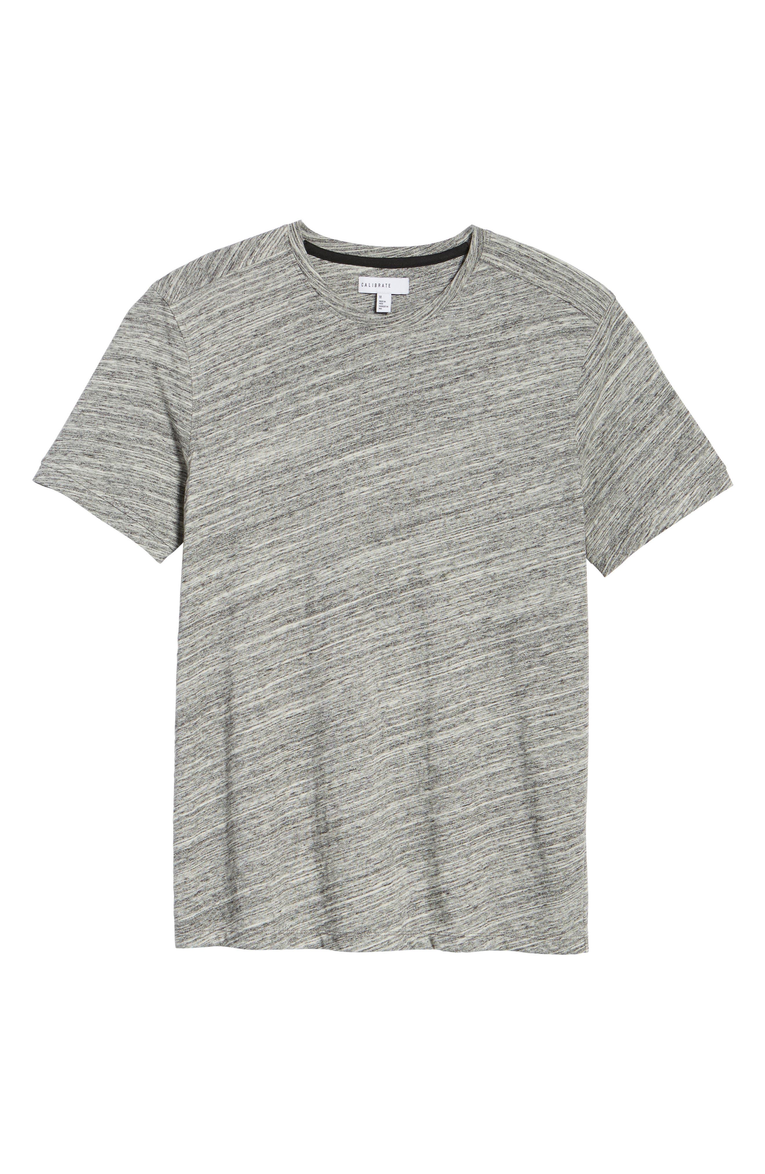 Texture T-Shirt,                             Alternate thumbnail 5, color,                             Ivory Egret Spacedye