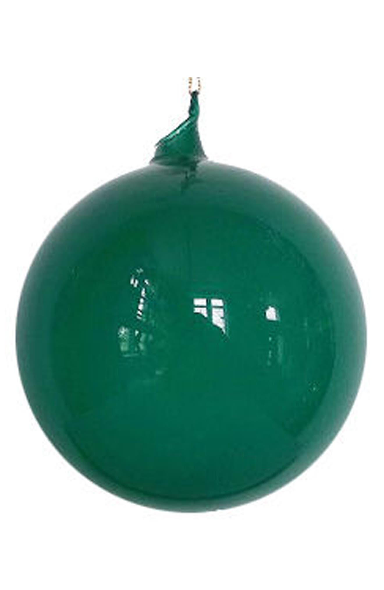 Winward Set of 6 Bubblegum Glass Ball Ornaments