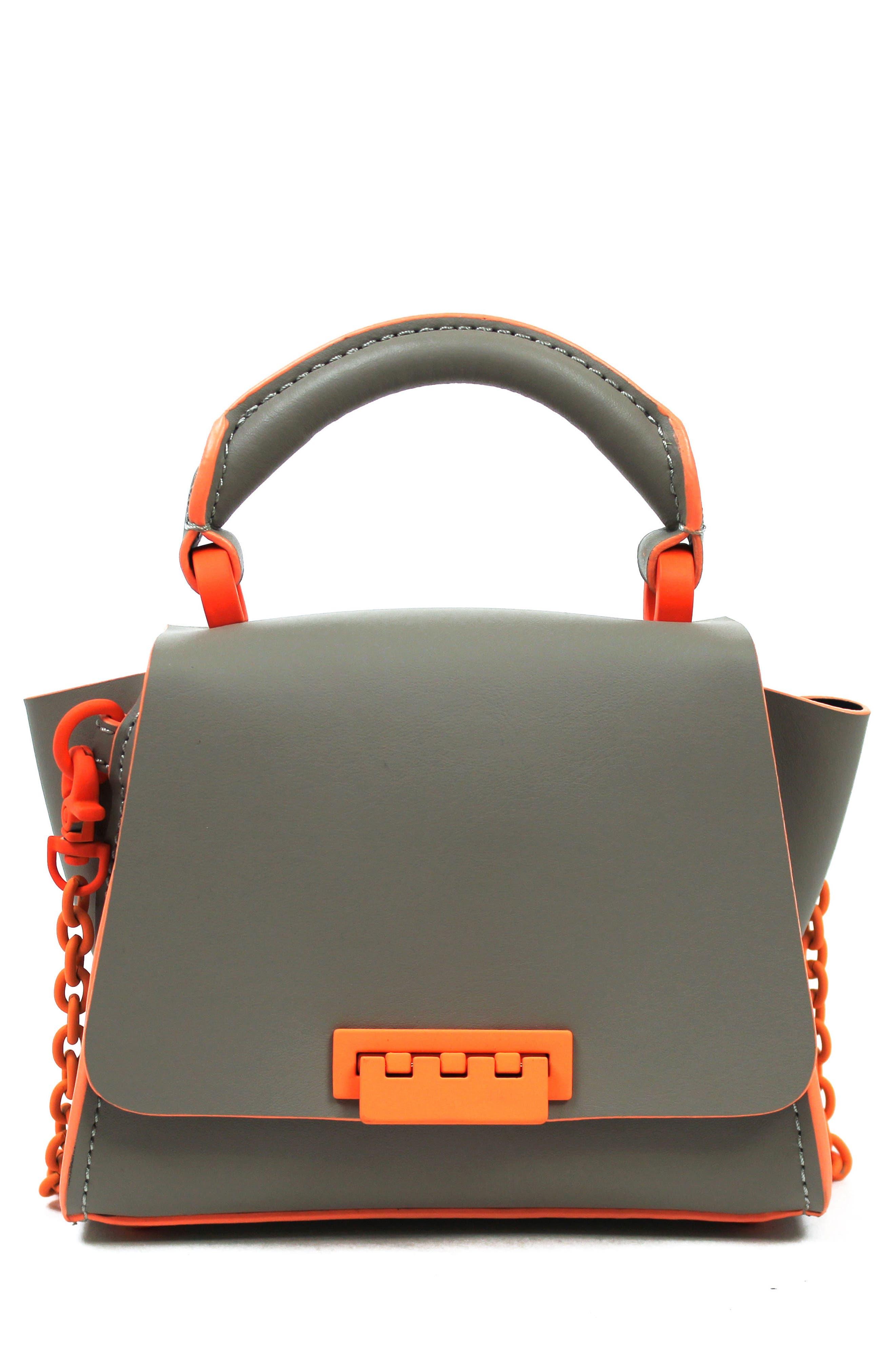 Eartha Iconic Leather Soft Handle Mini Bag,                             Main thumbnail 1, color,                             Sparrow