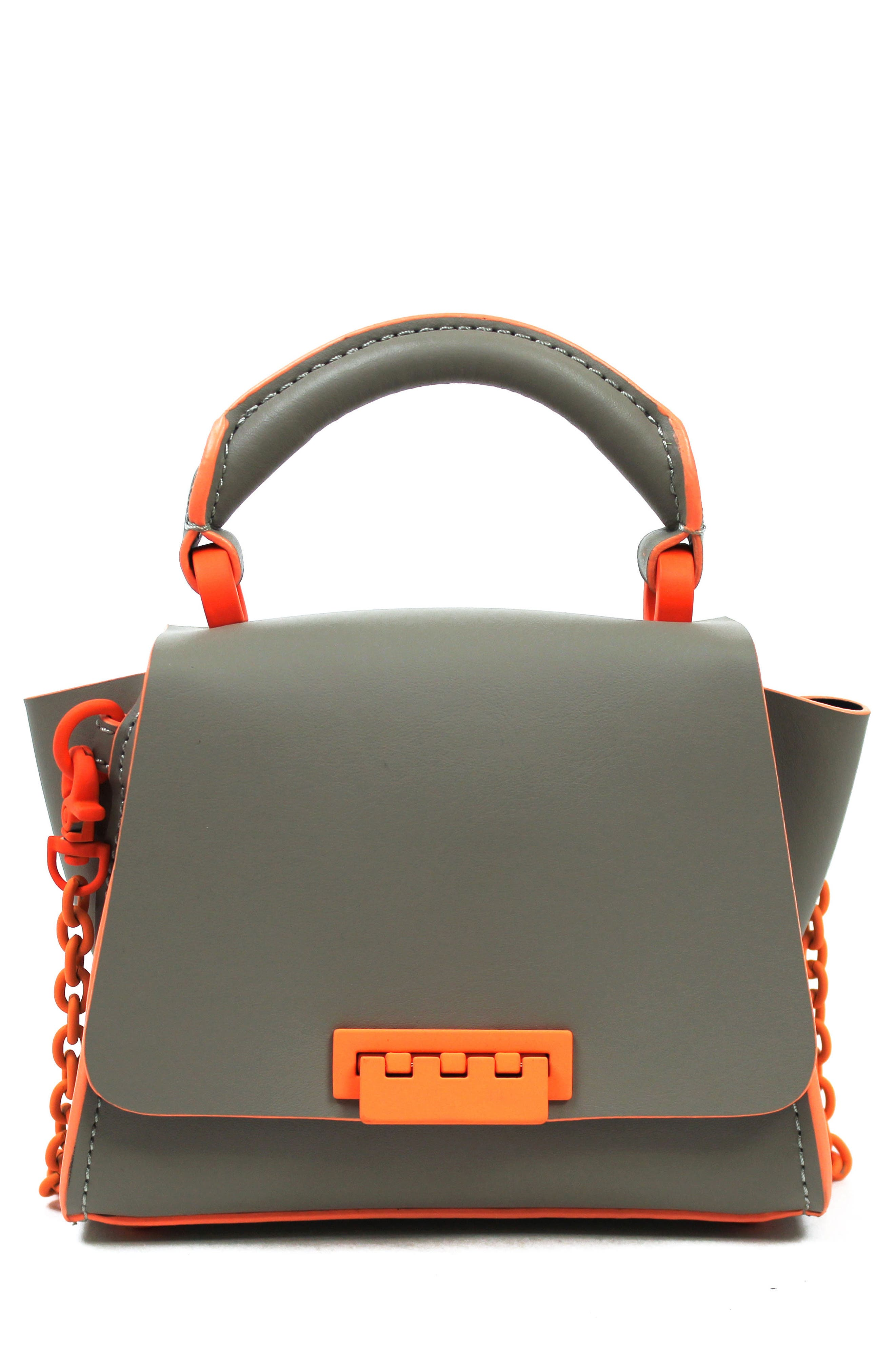 Eartha Iconic Leather Soft Handle Mini Bag,                         Main,                         color, Sparrow