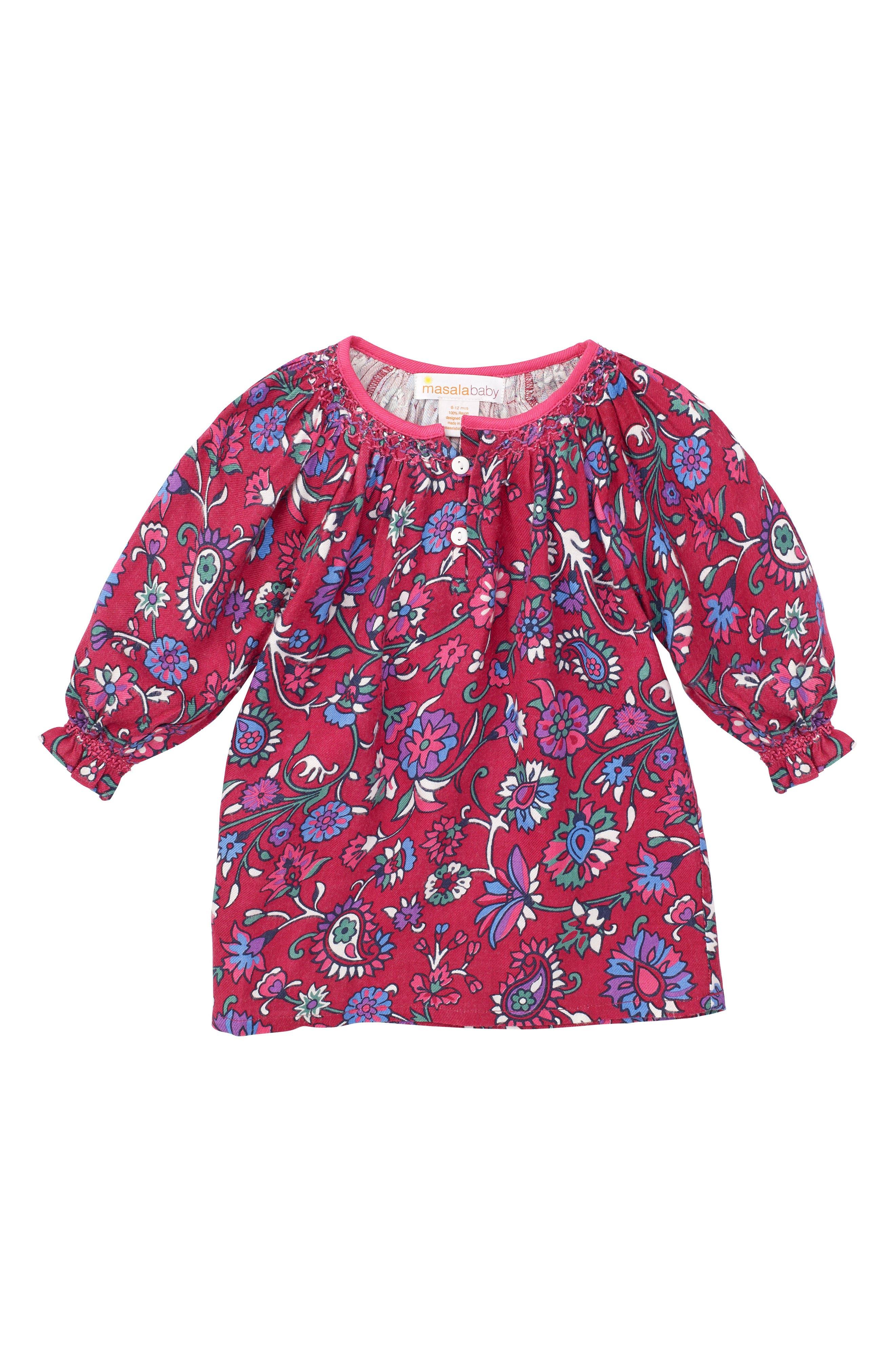 Masalababy Ada Floral Dress (Baby Girls)
