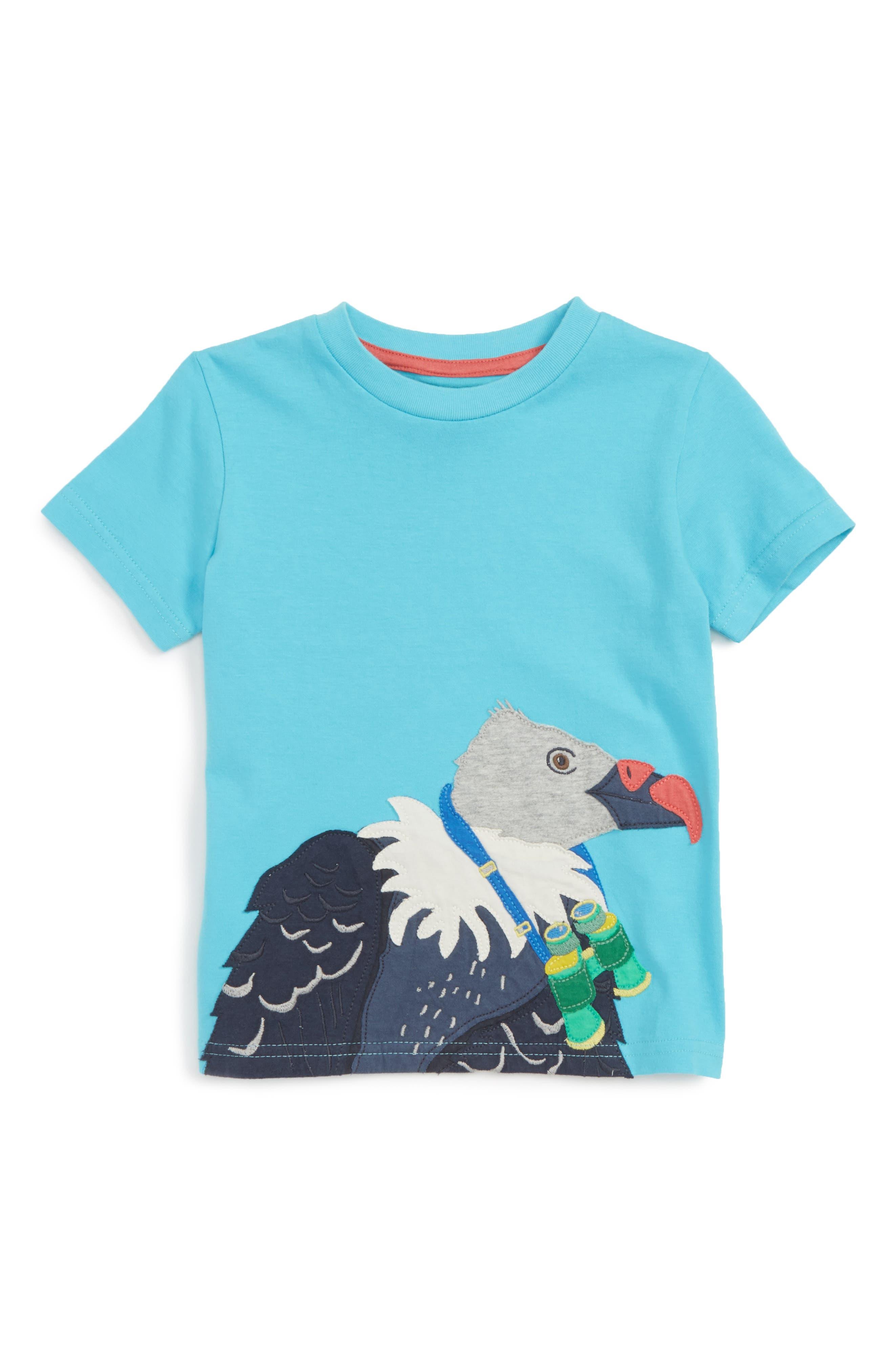Mini Boden Jungle Appliqué T-Shirt (Toddler Boys, Little Boys & Big Boys)