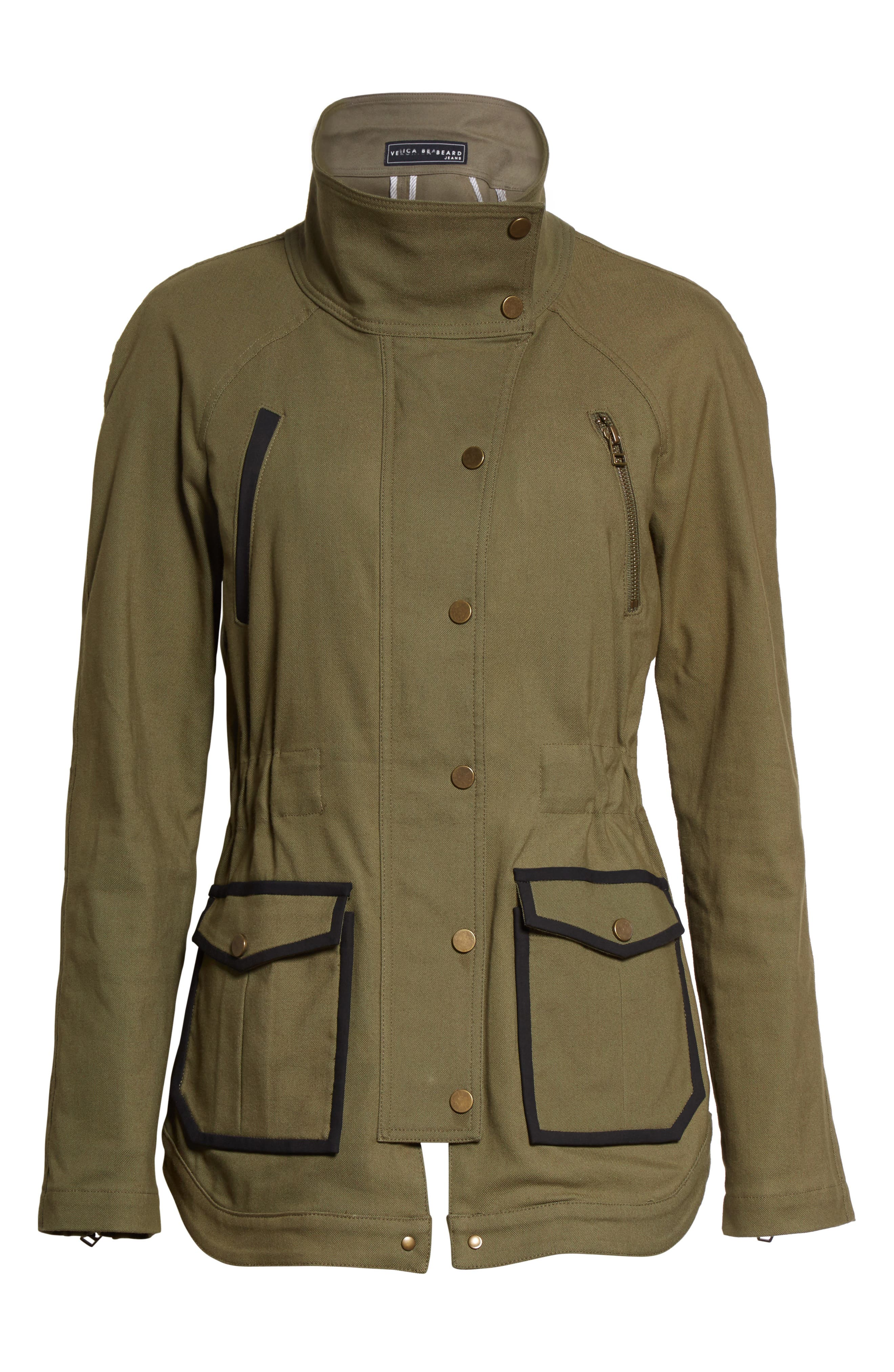 Army Jacket,                             Alternate thumbnail 6, color,                             Army Green