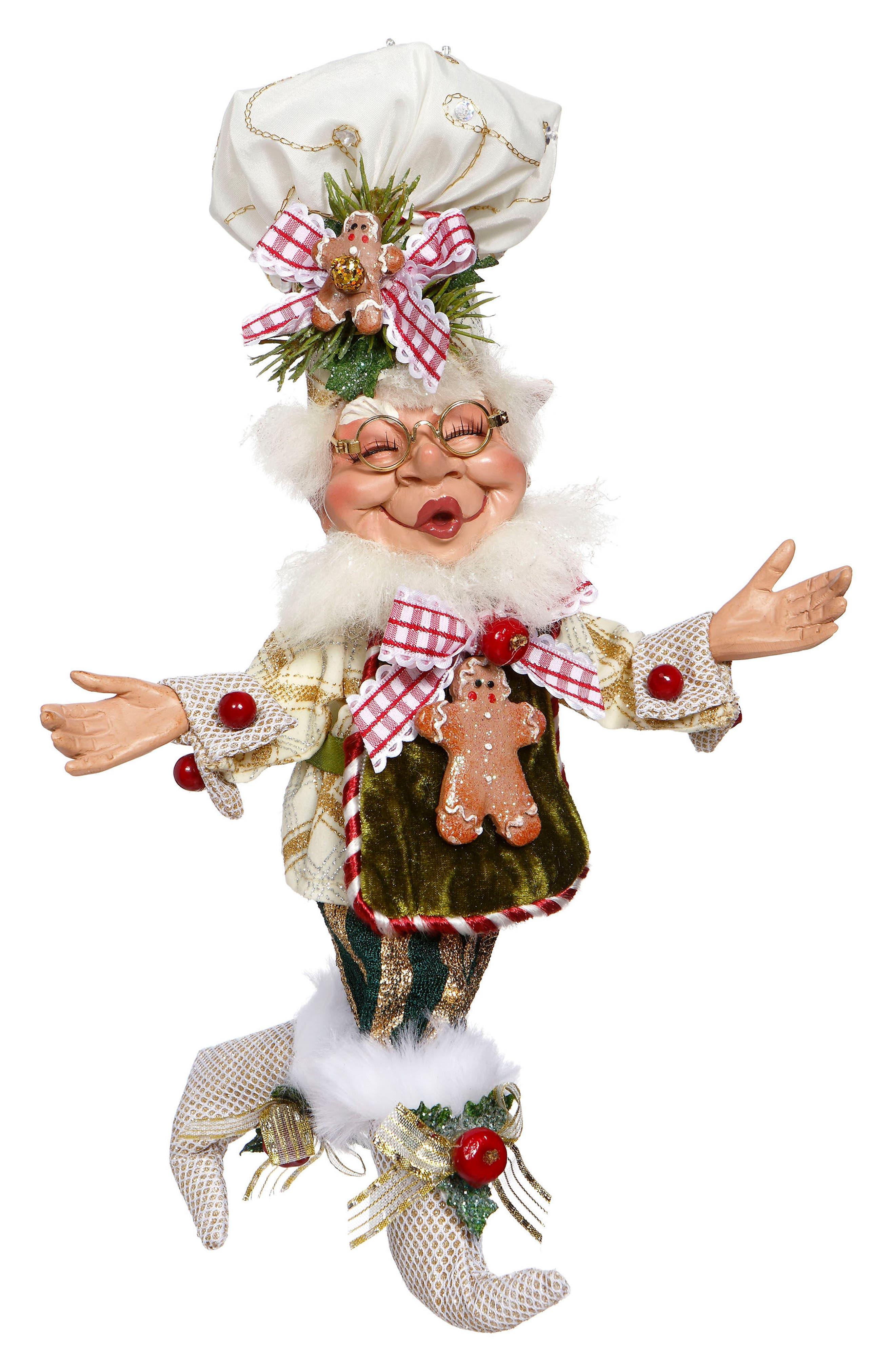 Gingerbread Spice Elf,                         Main,                         color, White