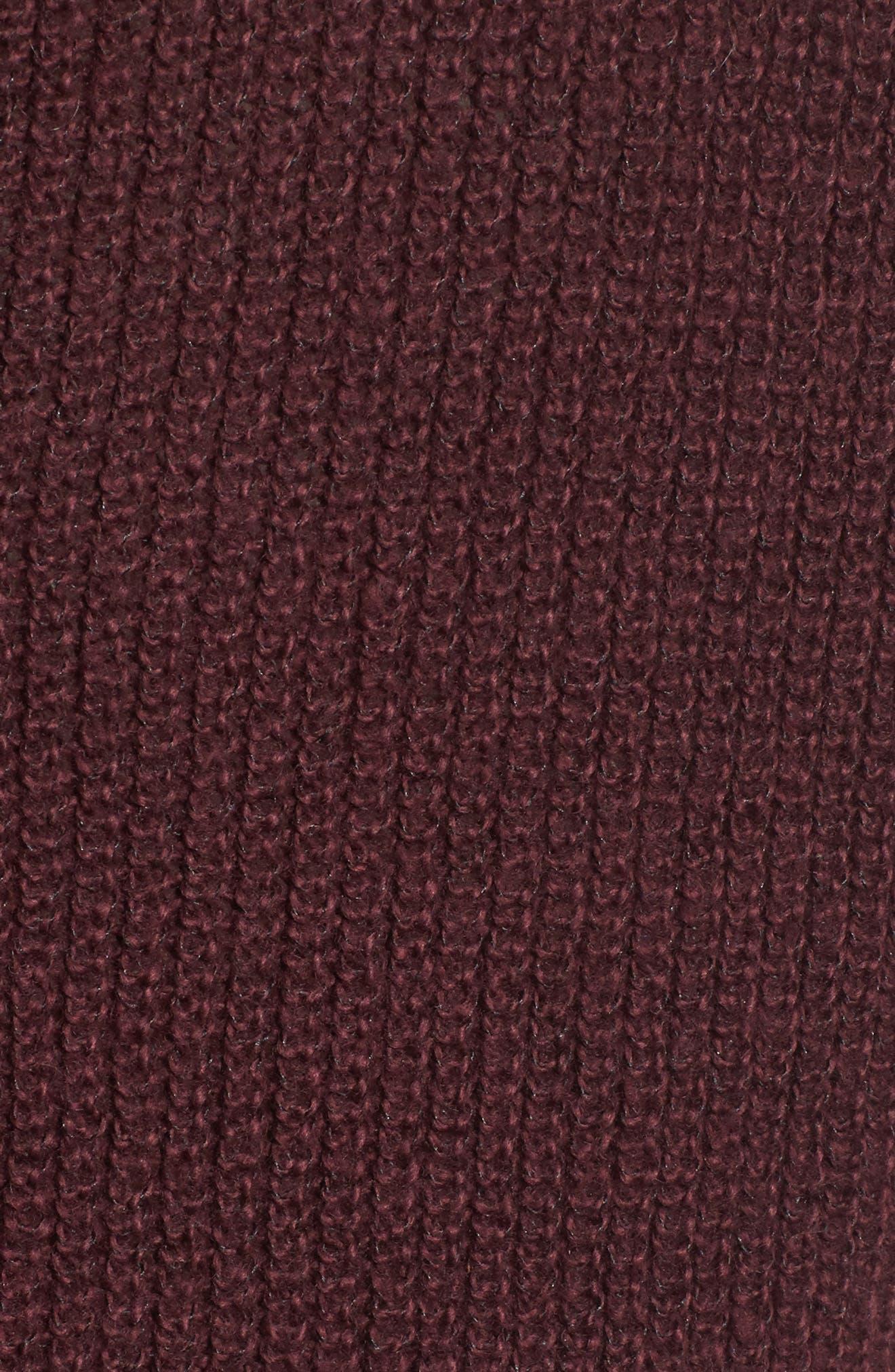 Alternate Image 5  - Hinge Button Back V-Neck Sweater