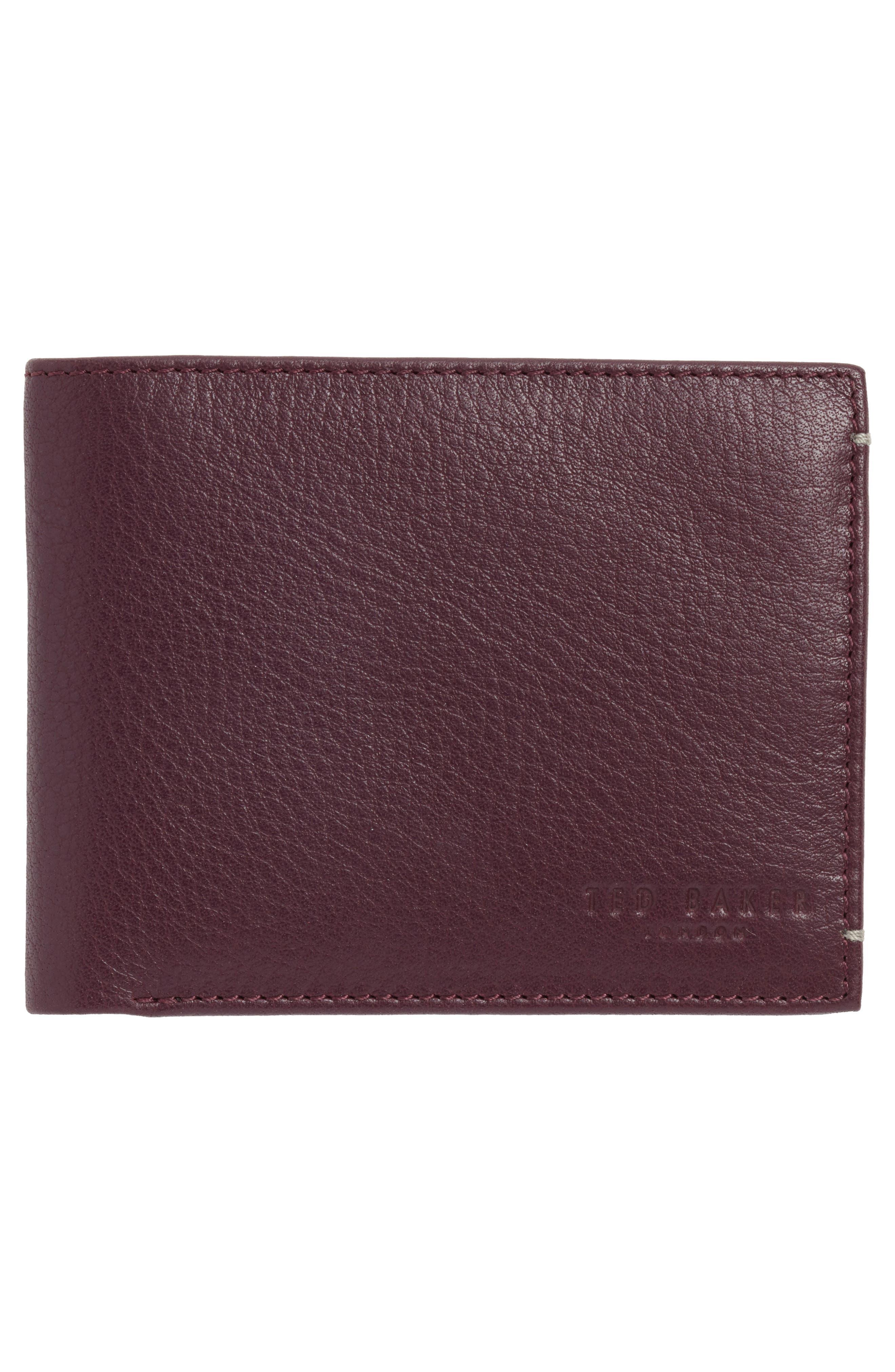 Ted Baker London Davus Leather Wallet