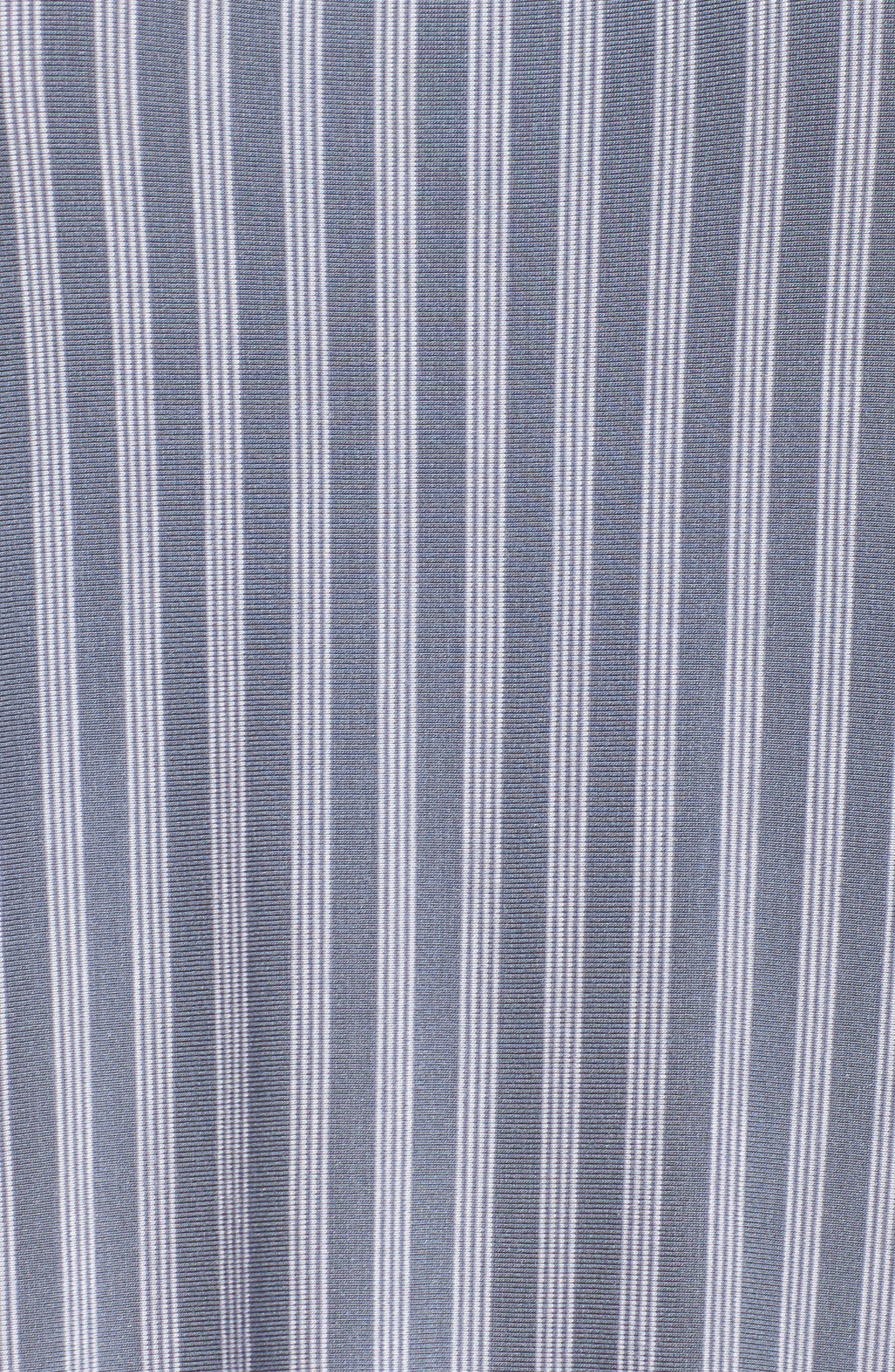 Long Chemise,                             Alternate thumbnail 6, color,                             Blue Stone Stripe