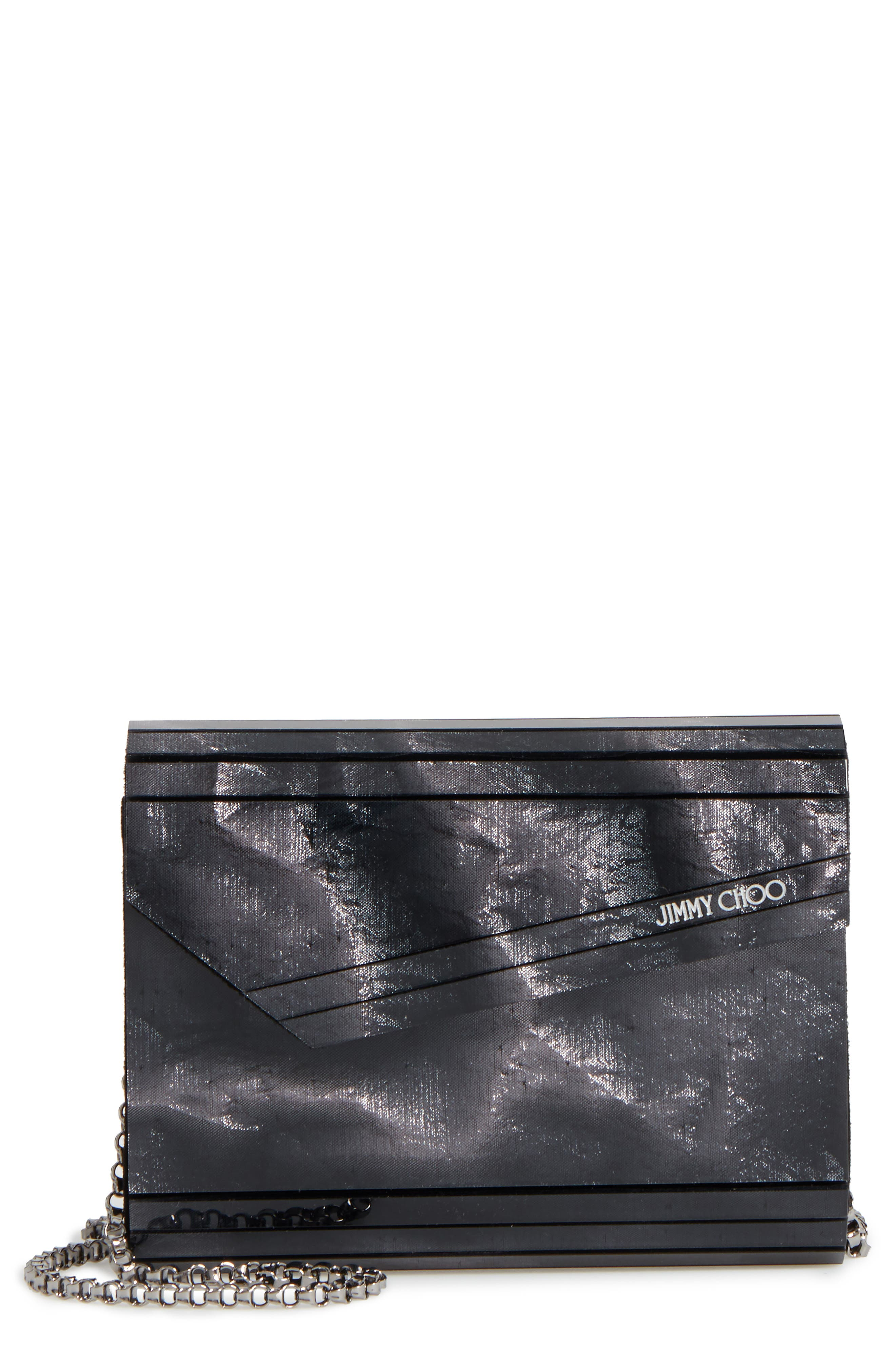 'Candy' Clutch,                         Main,                         color, Anthracite