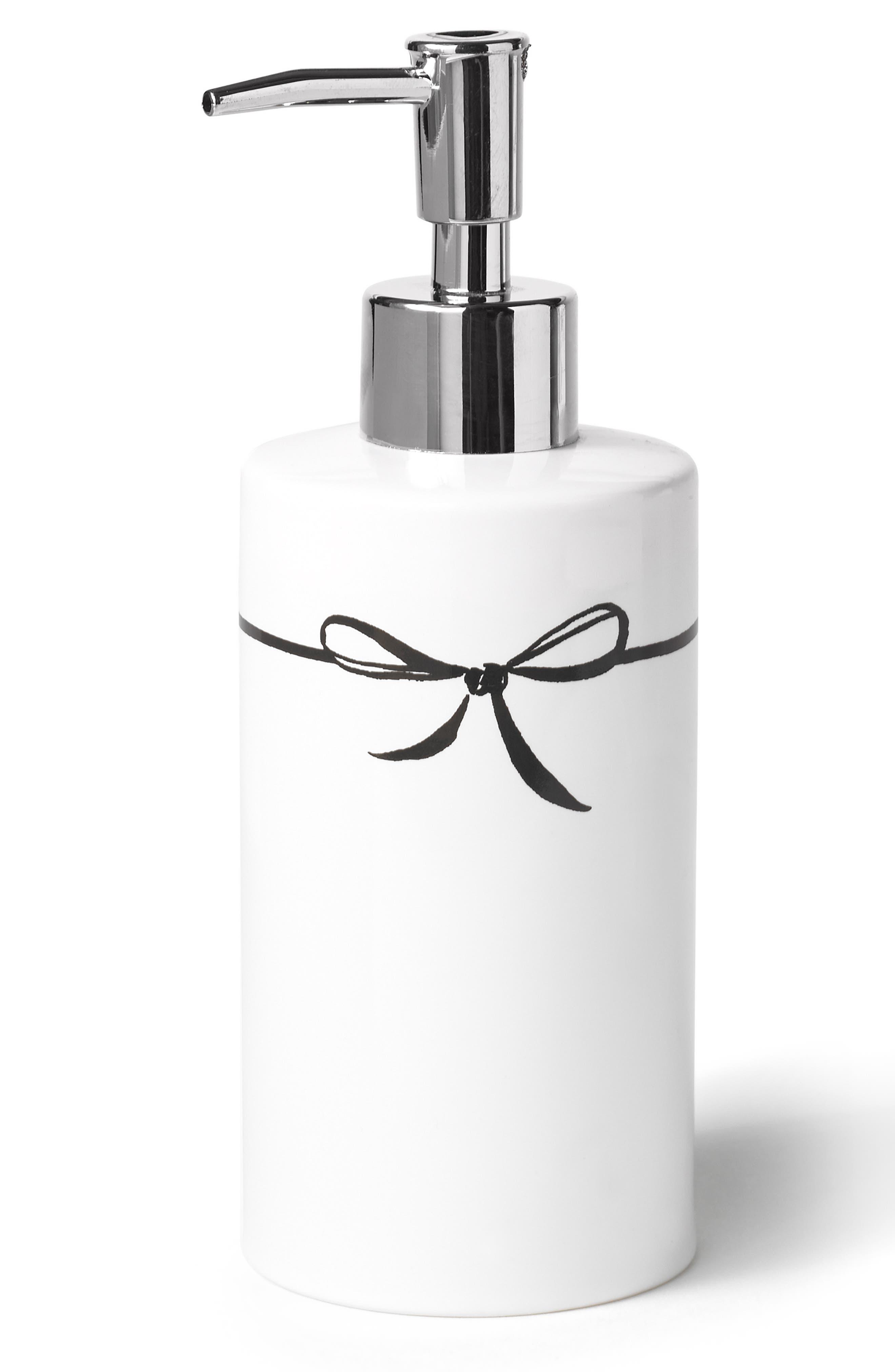 daisy place lotion dispenser,                             Main thumbnail 1, color,                             White