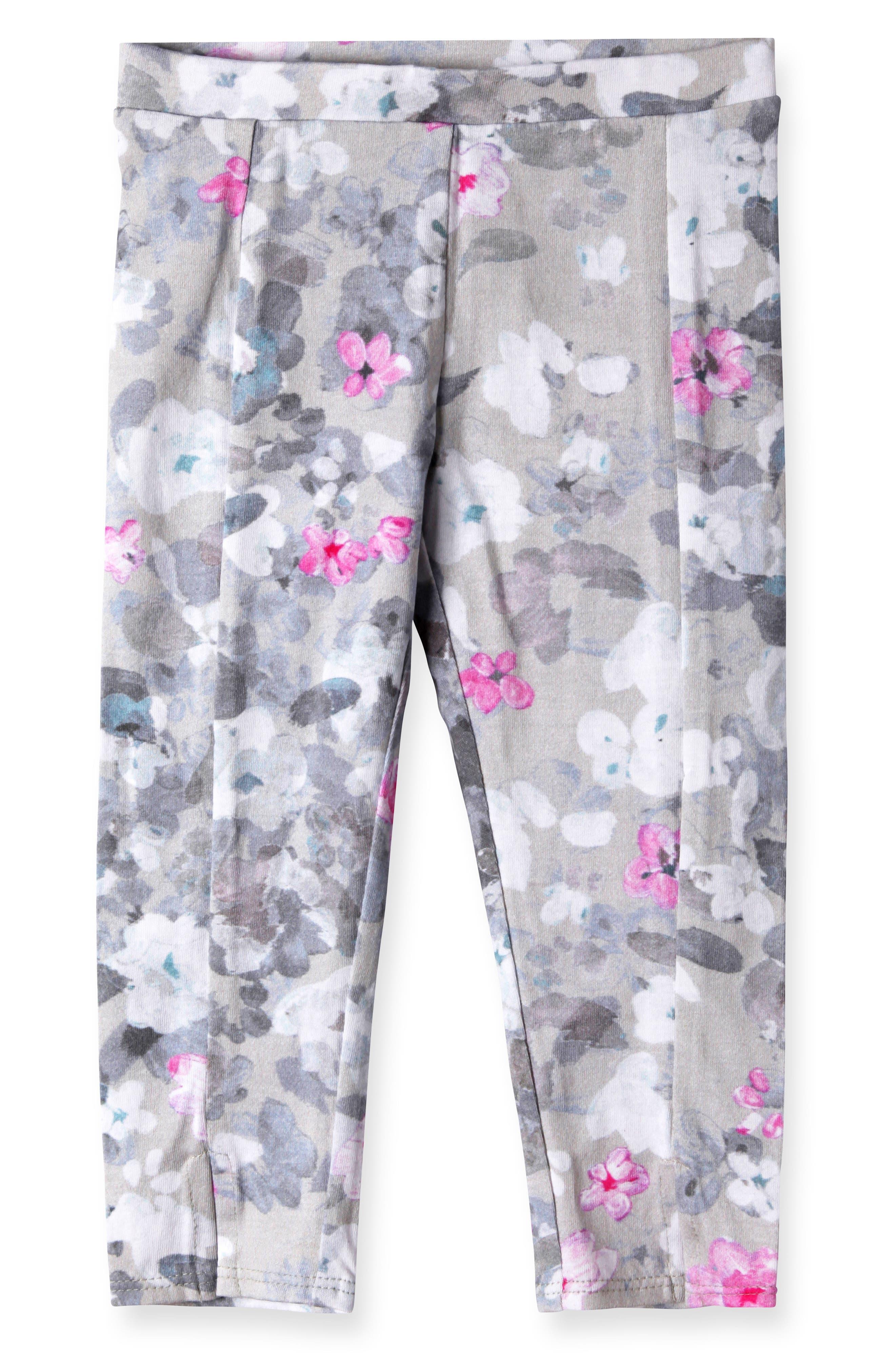 Diane Print Leggings,                         Main,                         color, Grey