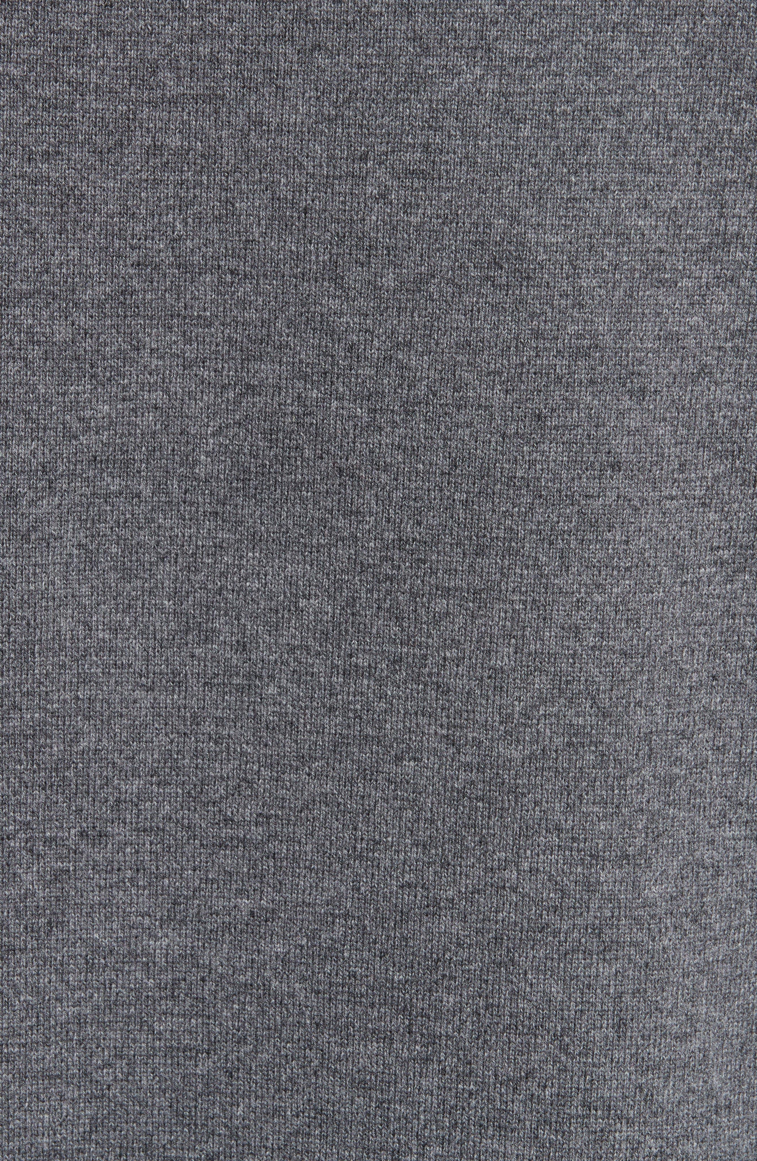 Wool & Cashmere Sweater,                             Alternate thumbnail 3, color,                             Grey Melange