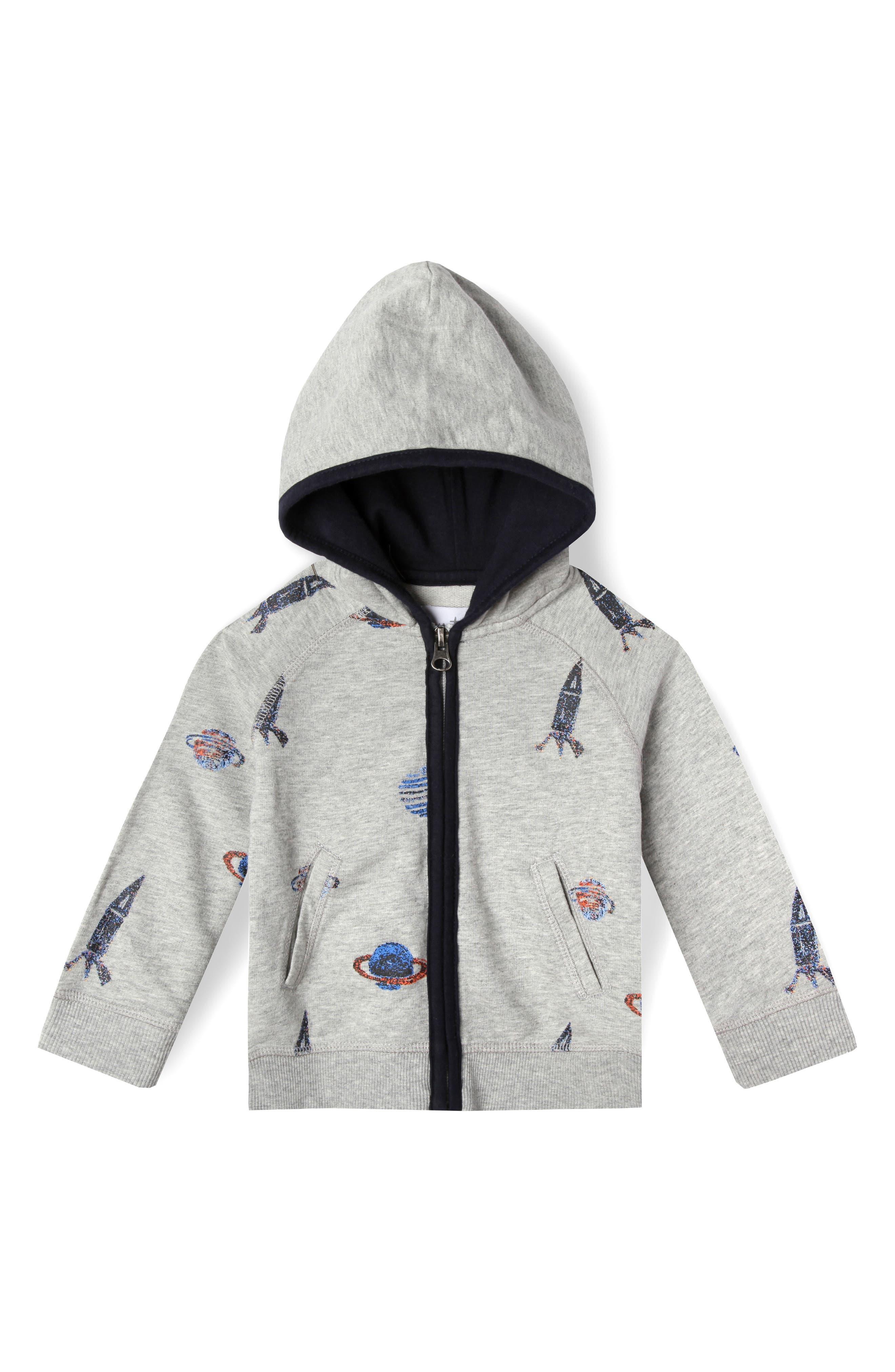 Art & Eden Astro Organic Cotton Hoodie (Baby Boys)