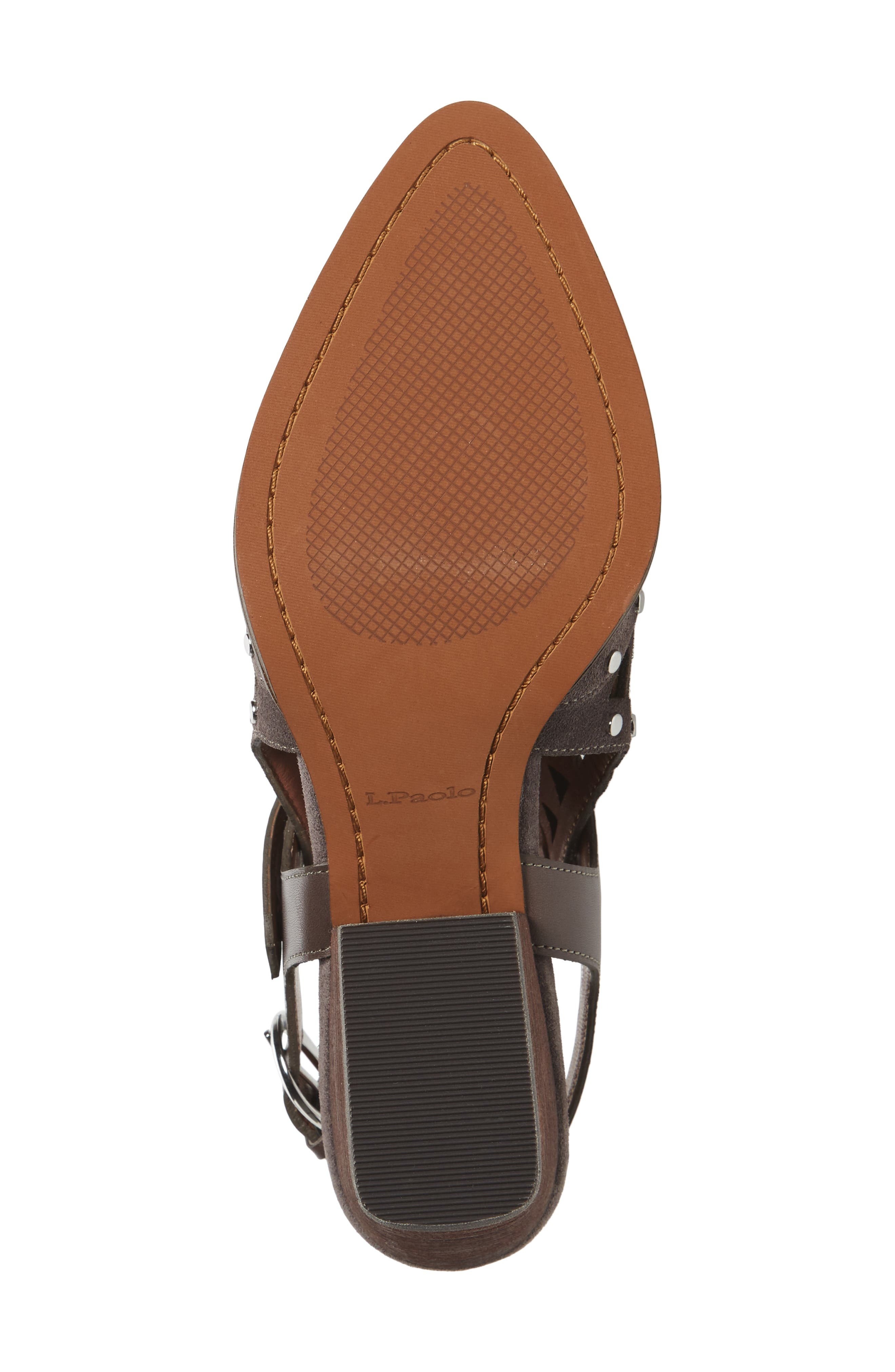 Whitney Bootie,                             Alternate thumbnail 6, color,                             Ash Suede