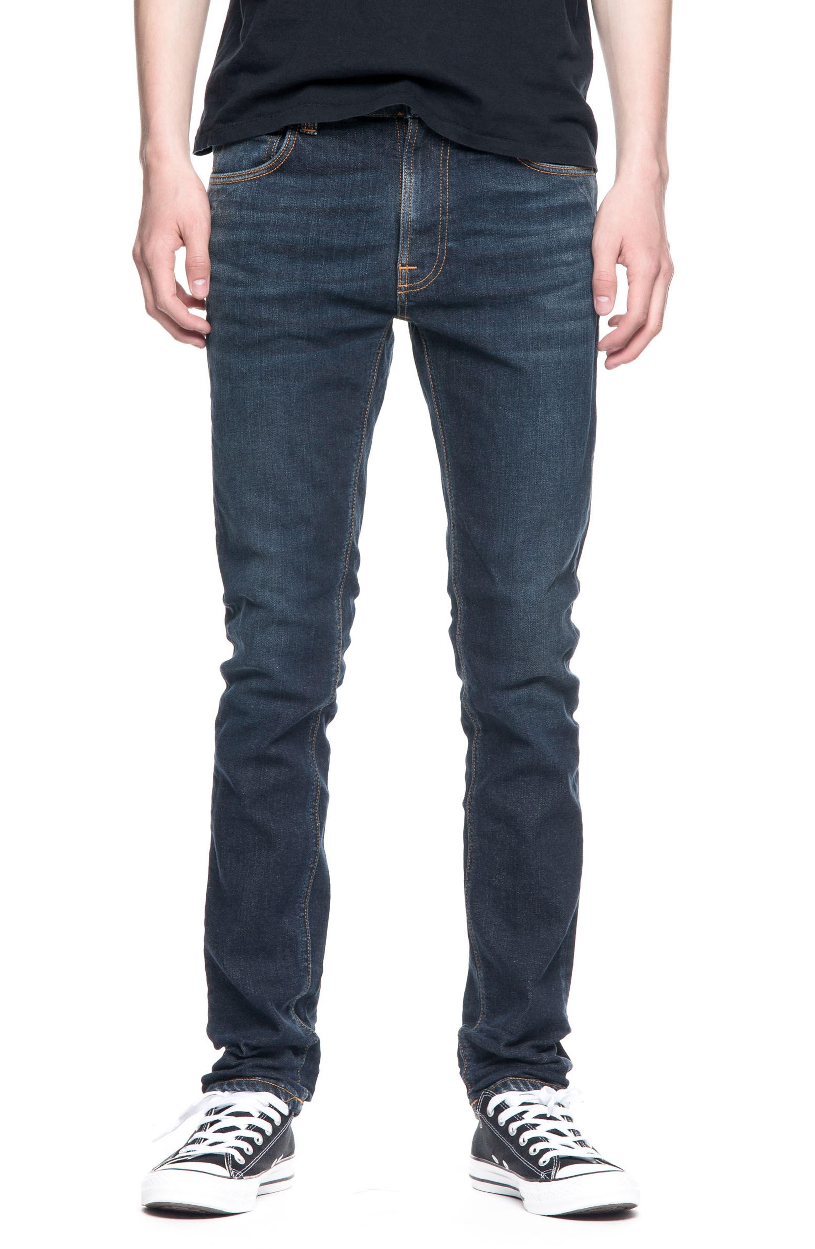 Nudie Jeans Lean Dean Slouchy Slim Fit Jeans (Endorsed Indigo)