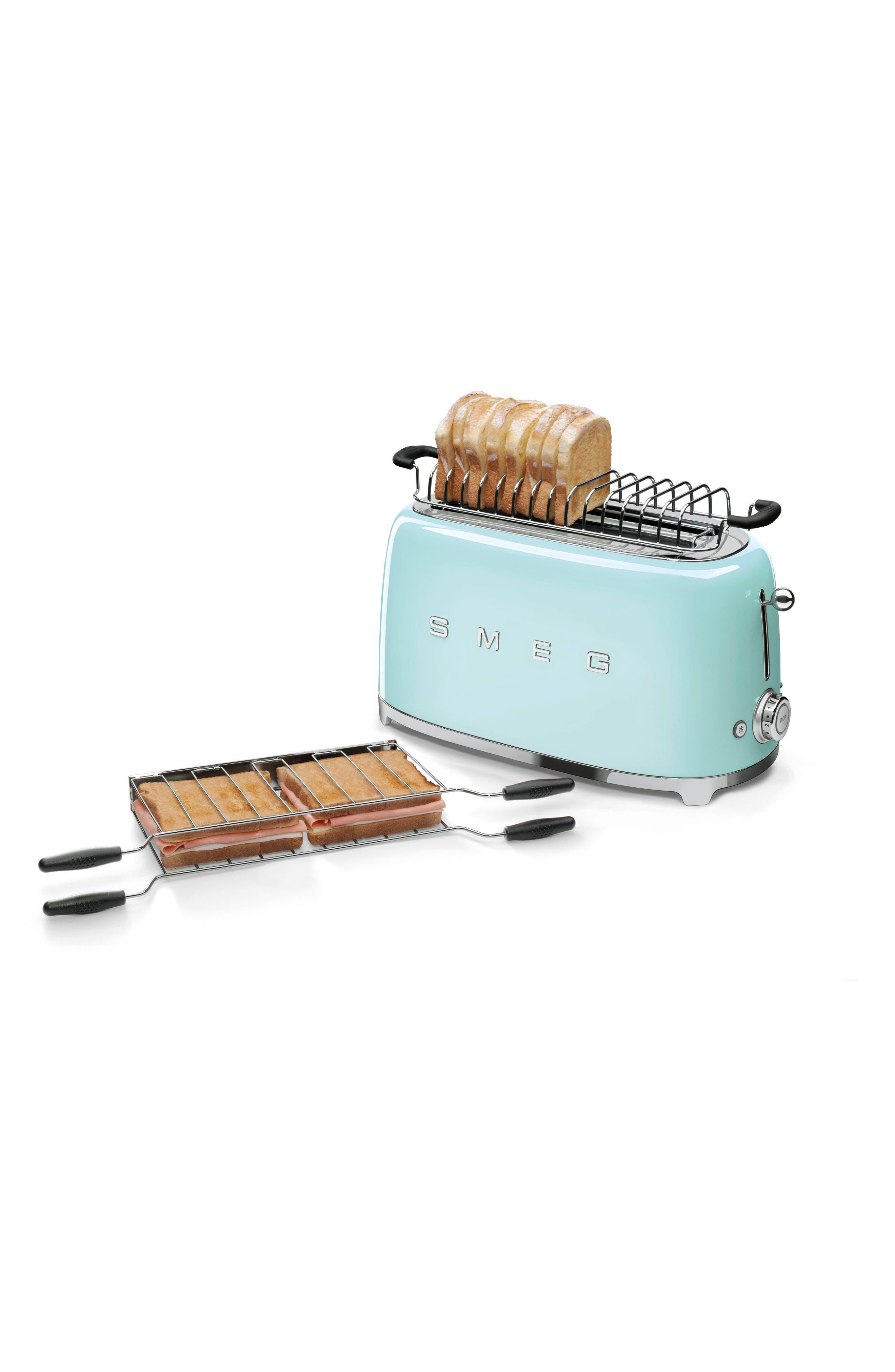Alternate Image 2  - smeg 50s Retro Style Four-Slice Toaster