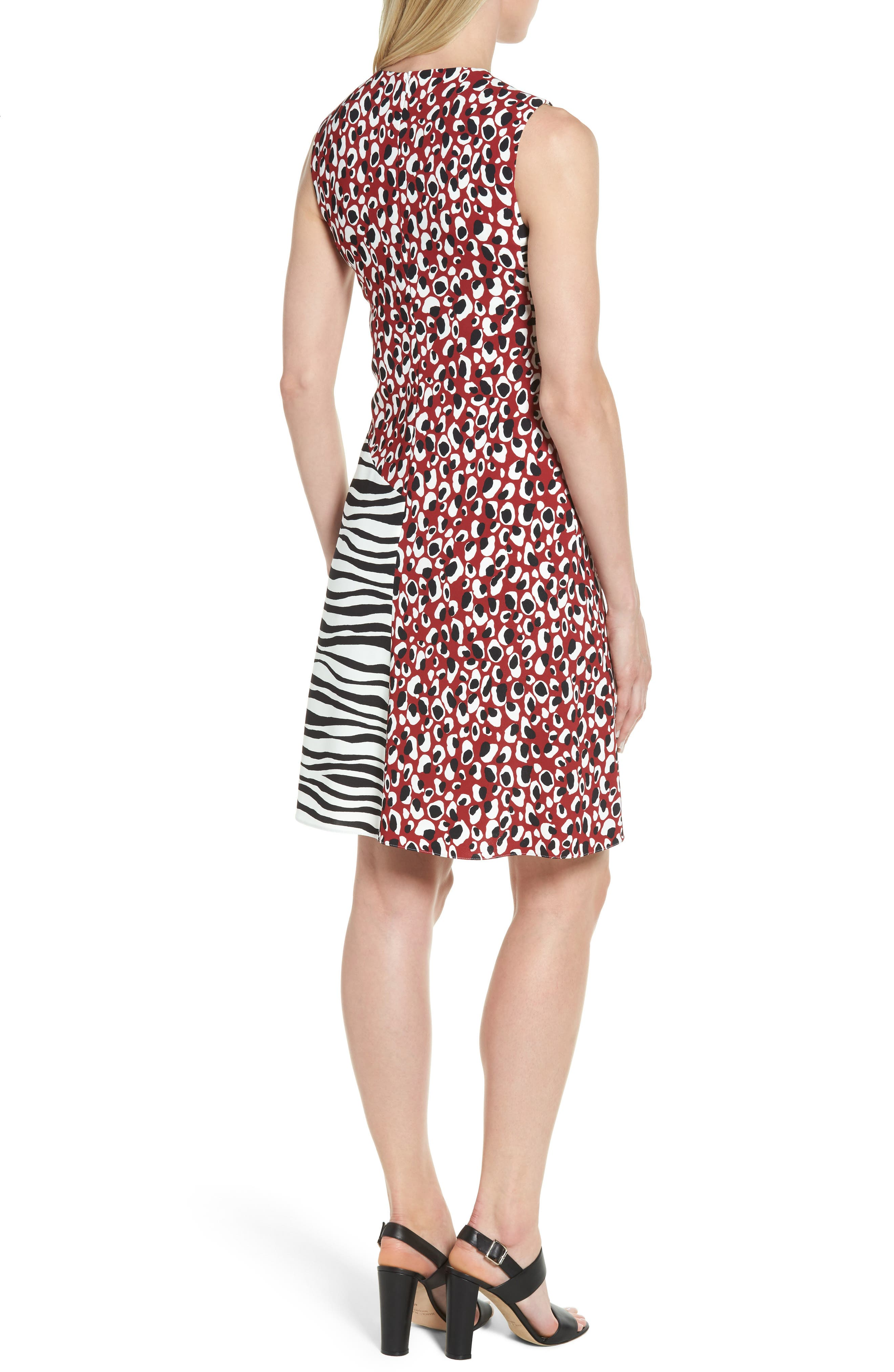 Alternate Image 2  - BOSS Diseba Animal Print Sheath Dress