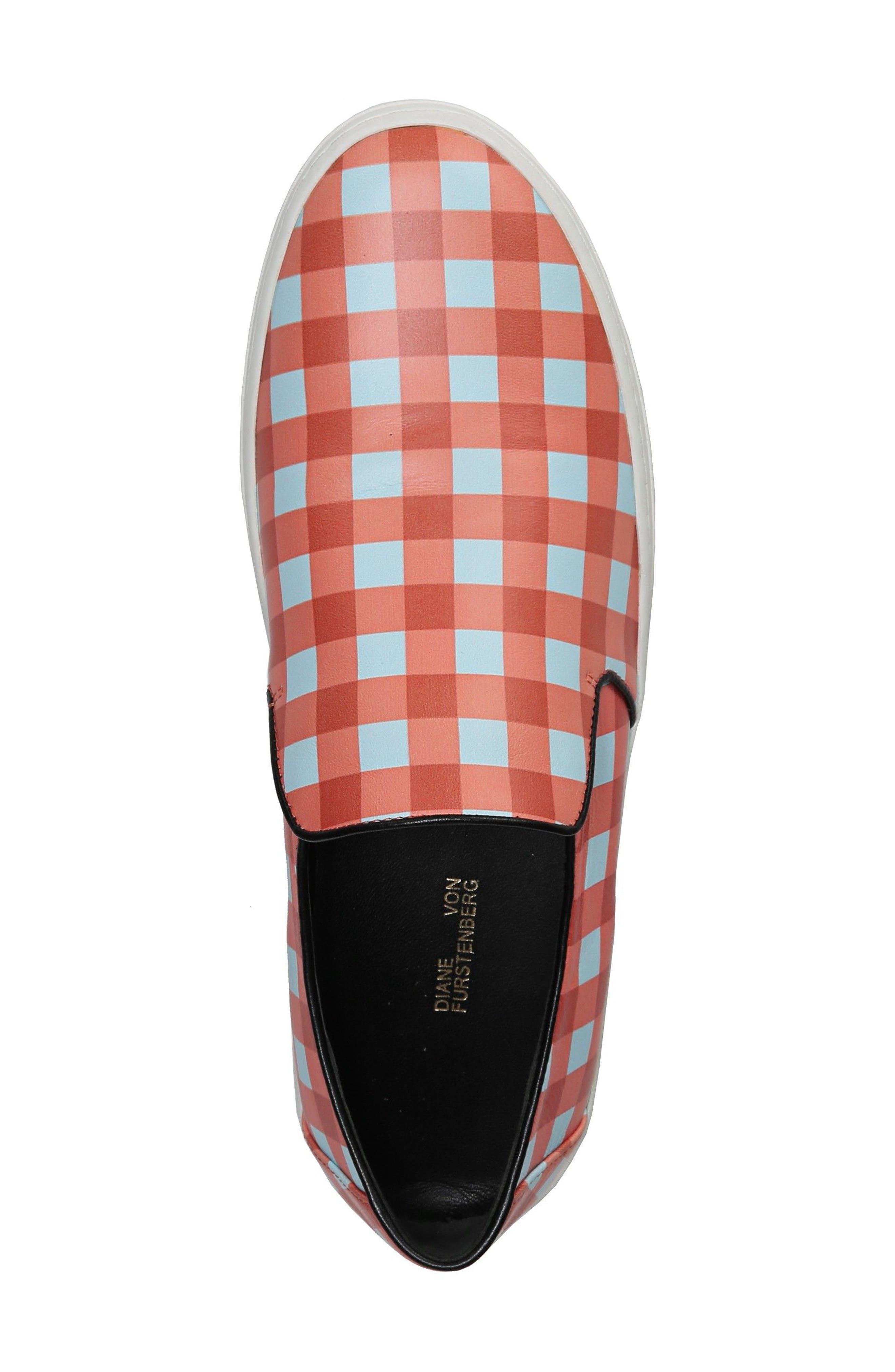 Budapest Slip-On Sneaker,                             Alternate thumbnail 5, color,                             Bold Red/ Black