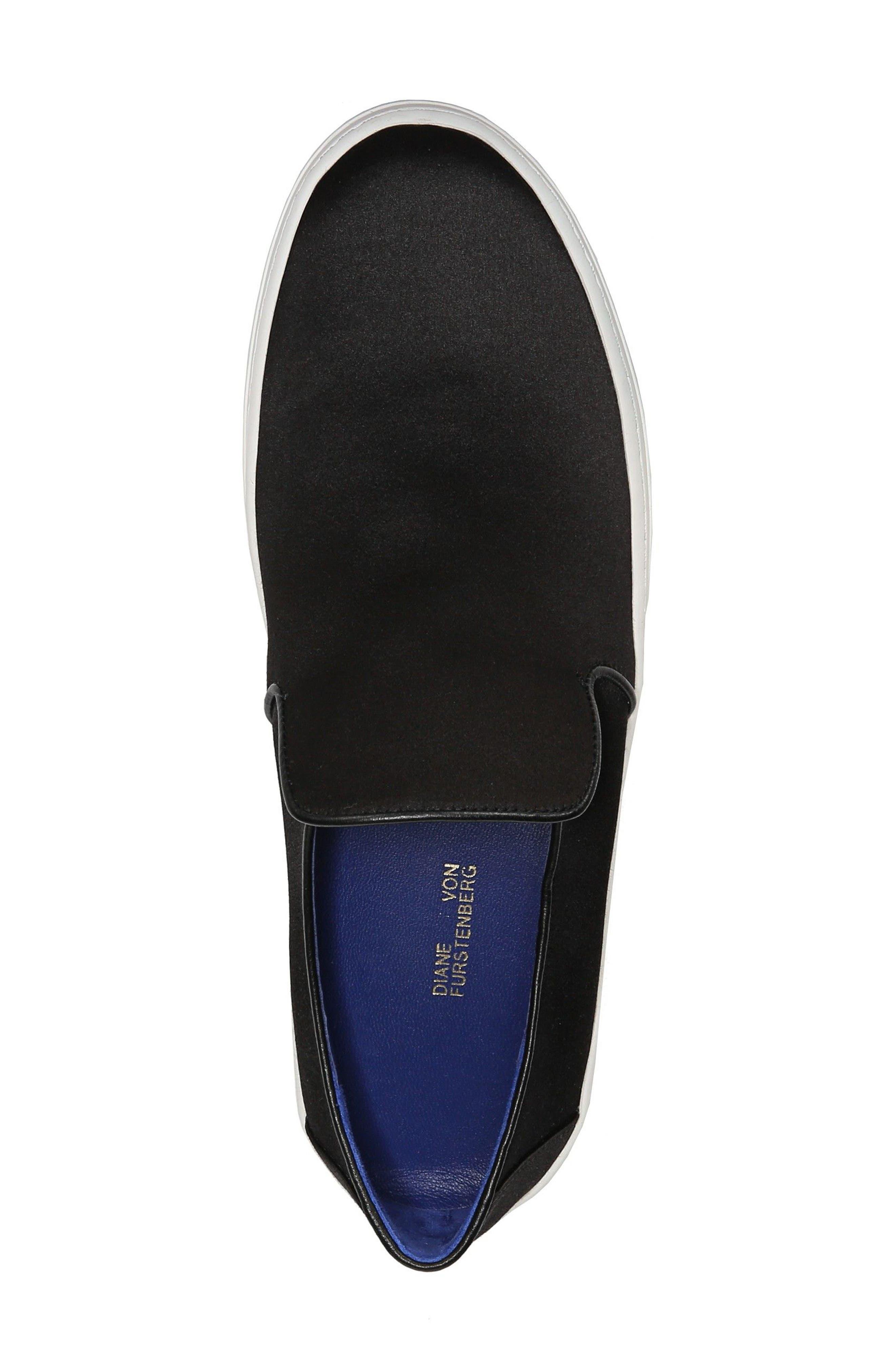 Budapest Slip-On Sneaker,                             Alternate thumbnail 5, color,                             Black
