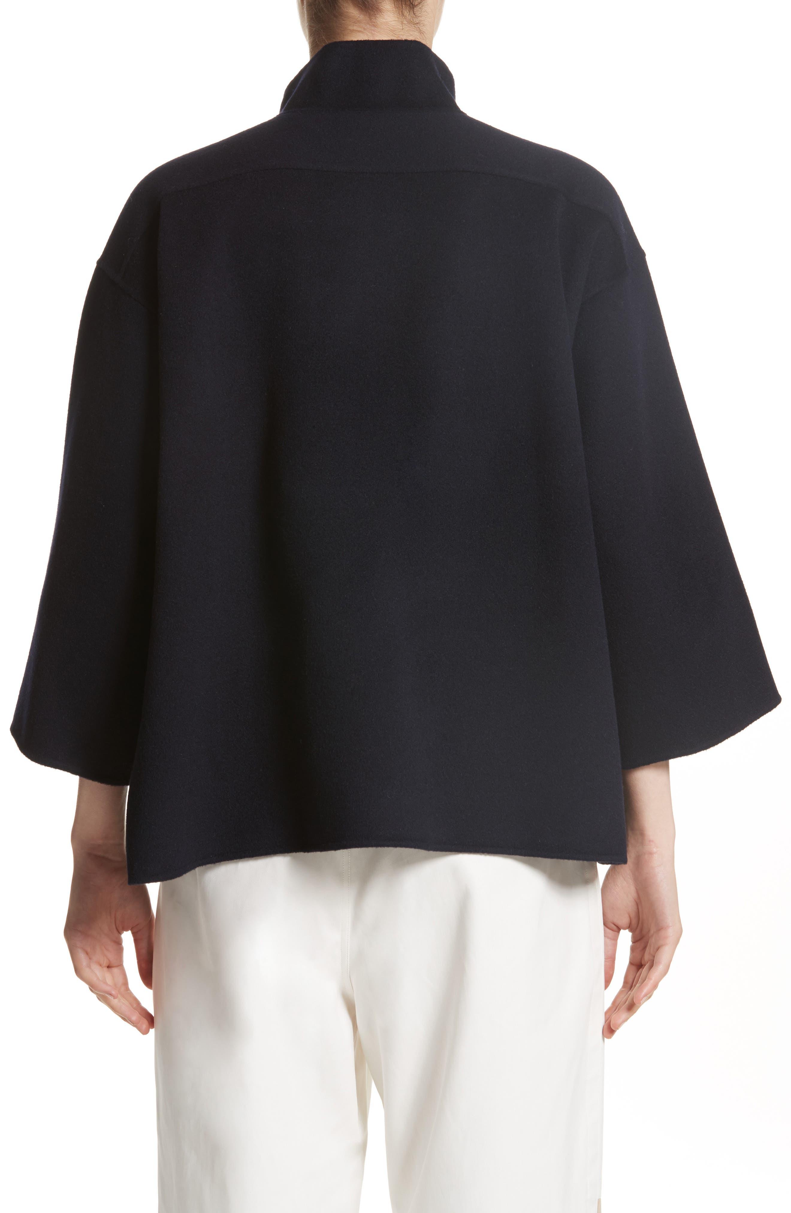 Alternate Image 2  - Sofie D'Hoore Crop Wool & Cashmere Jacket