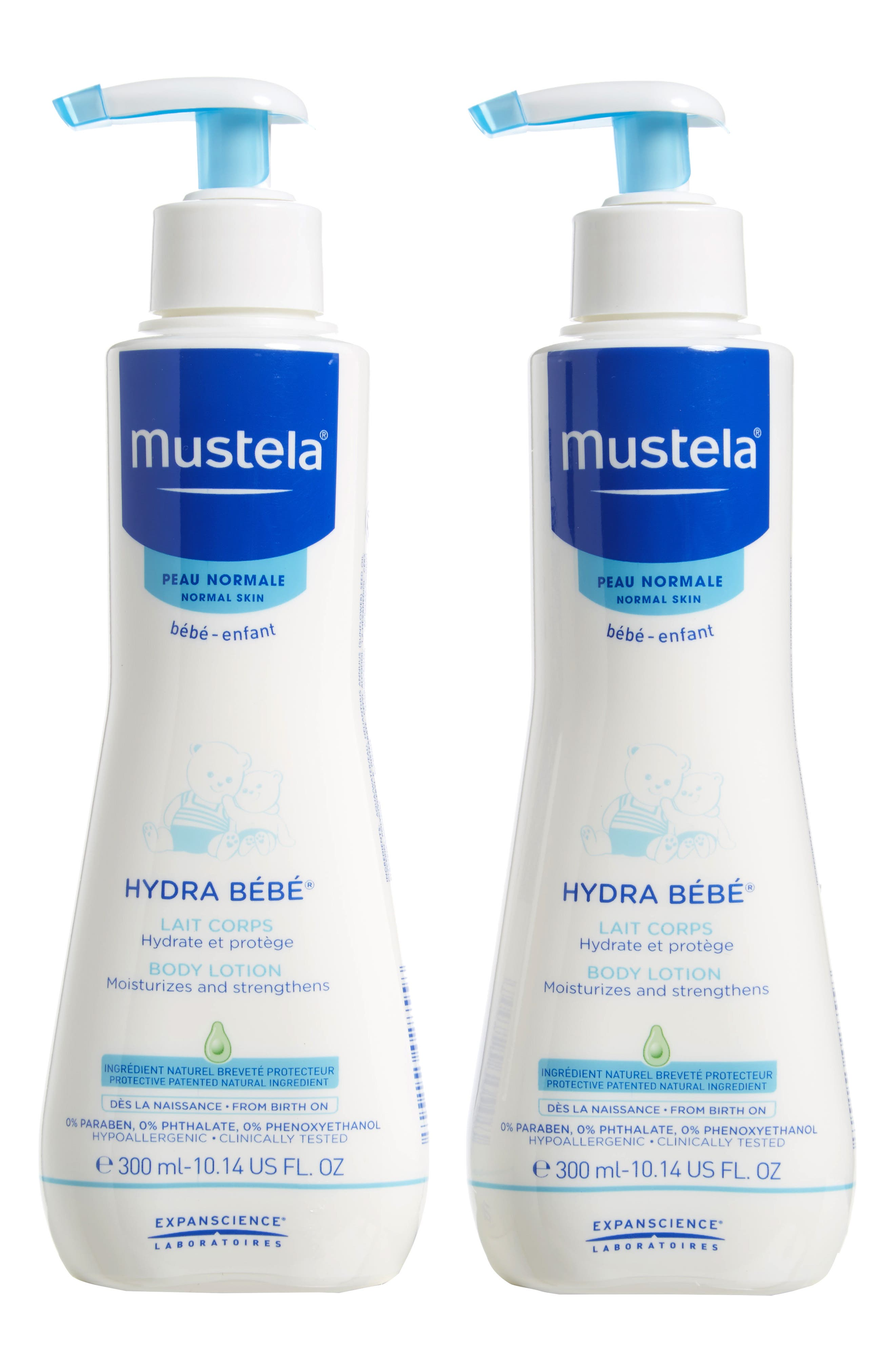 Hydra Bébé<sup>®</sup> Body Lotion,                             Main thumbnail 1, color,                             White