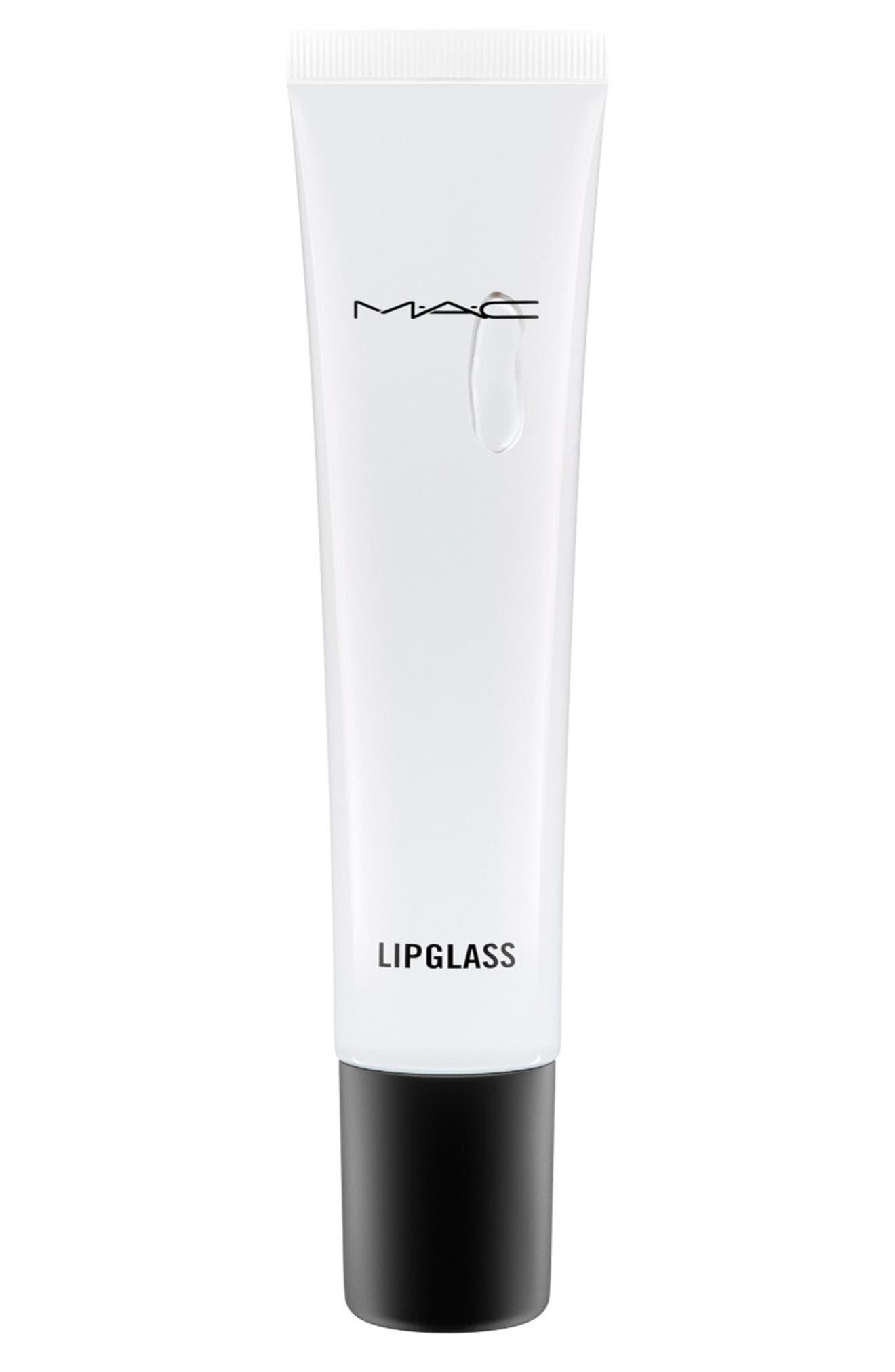 MAC Clear Lipglass,                         Main,                         color, Clear