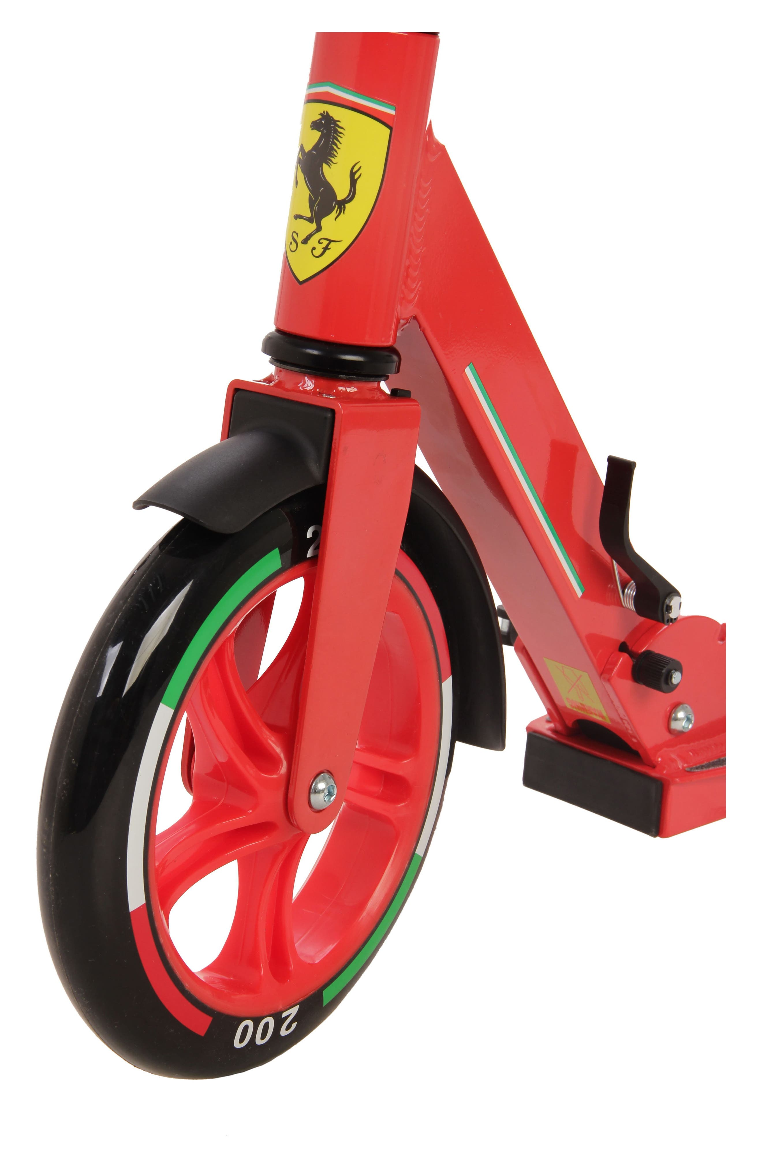 Two-Wheel Scooter,                             Alternate thumbnail 4, color,                             Ferrari Red
