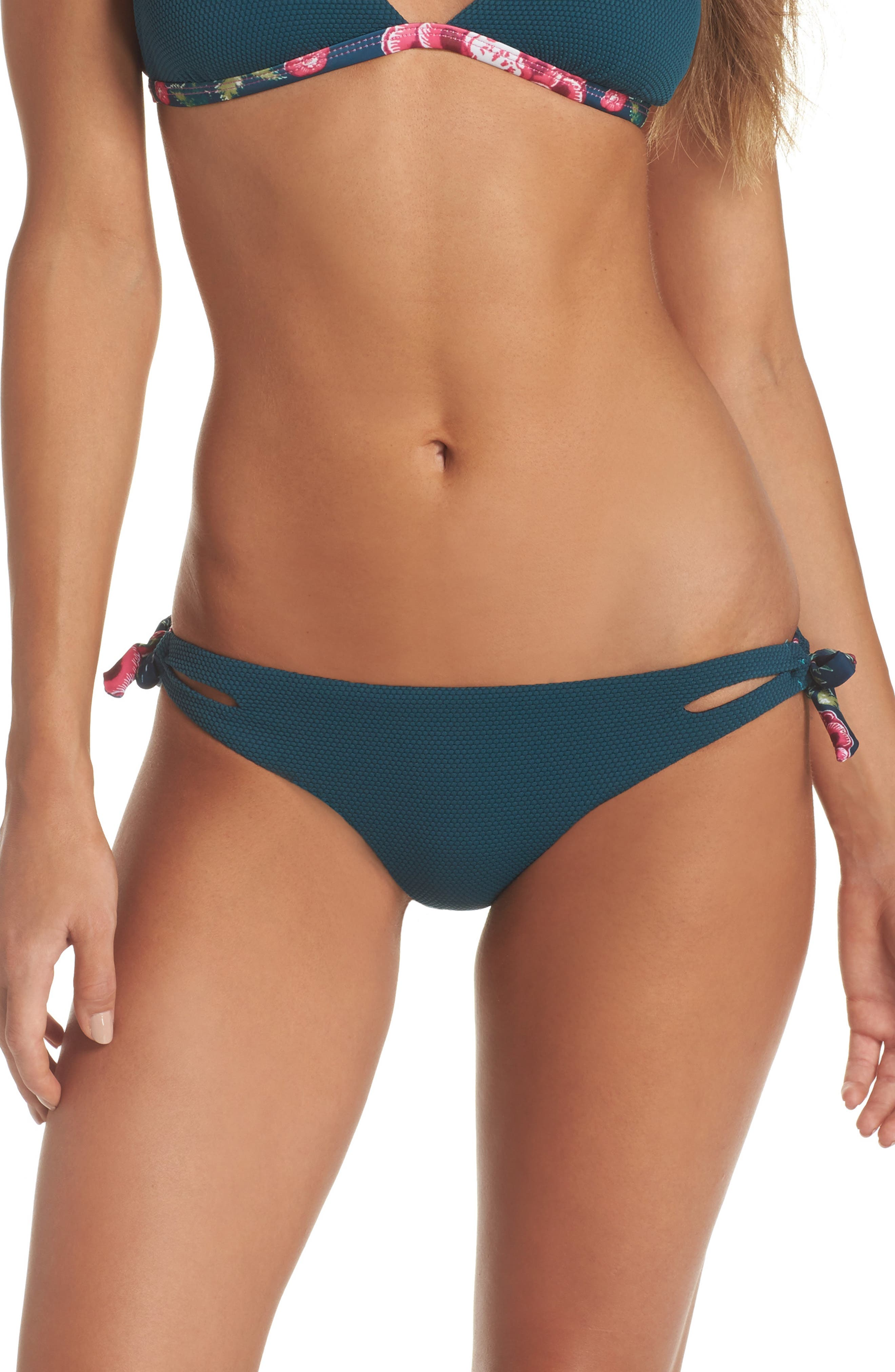Alternate Image 1 Selected - Leith Side Tie Bikini Bottoms