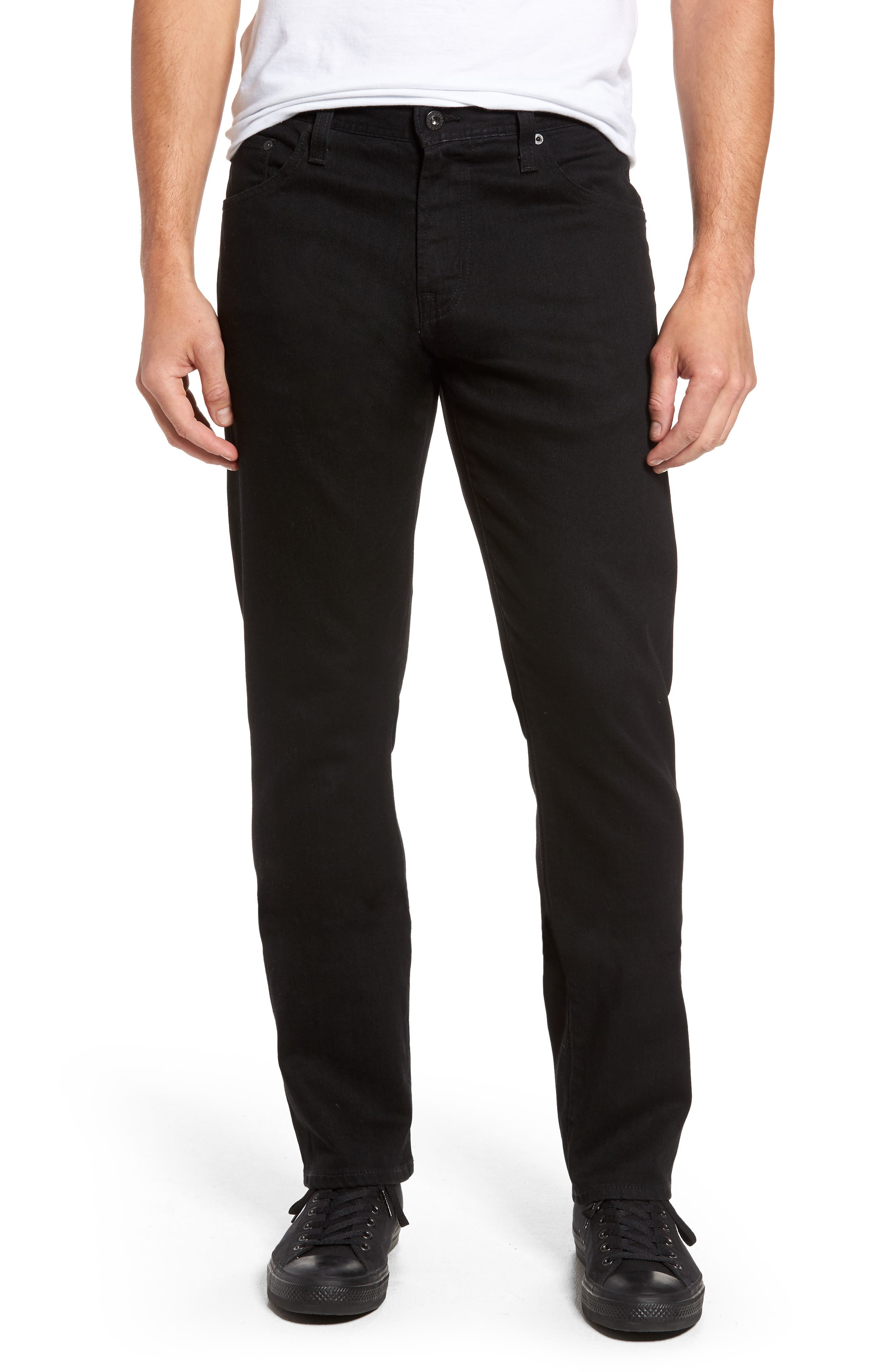 AG Ives Straight Leg Jeans (Deep Pitch)