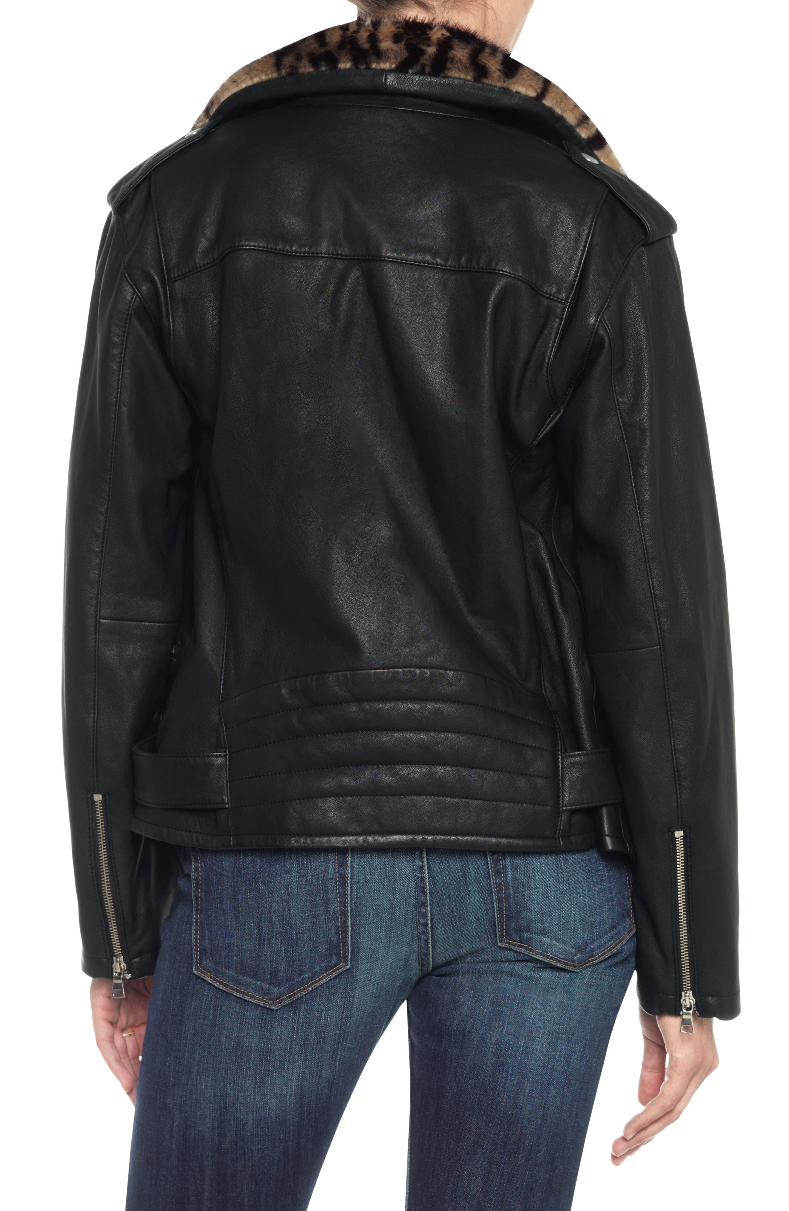 Alternate Image 2  - Joe's Riley Leather Biker Jacket