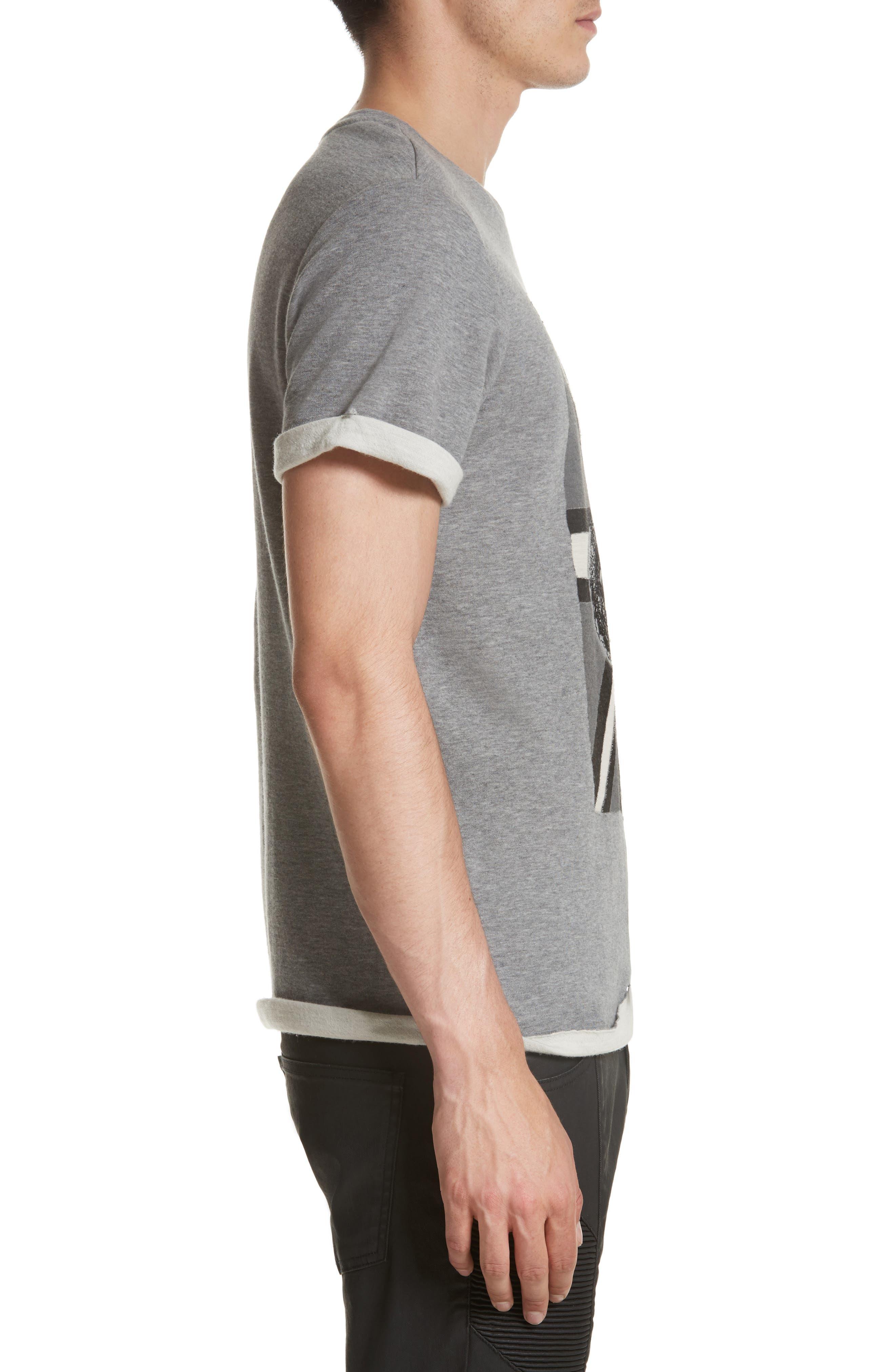 Alternate Image 3  - Pierre Balmain Print Fleece T-Shirt