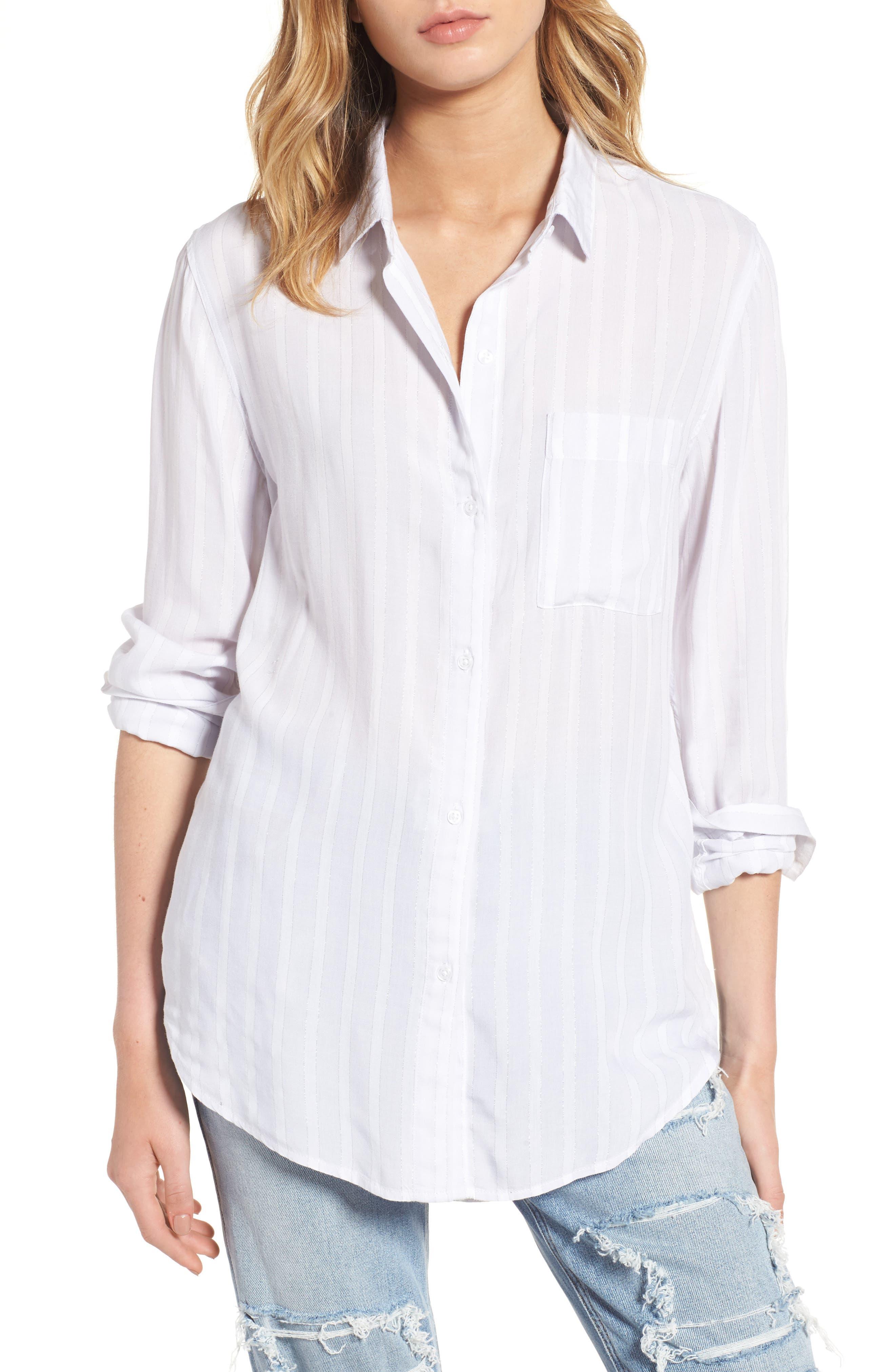 Rails Aly Stripe Woven Shirt