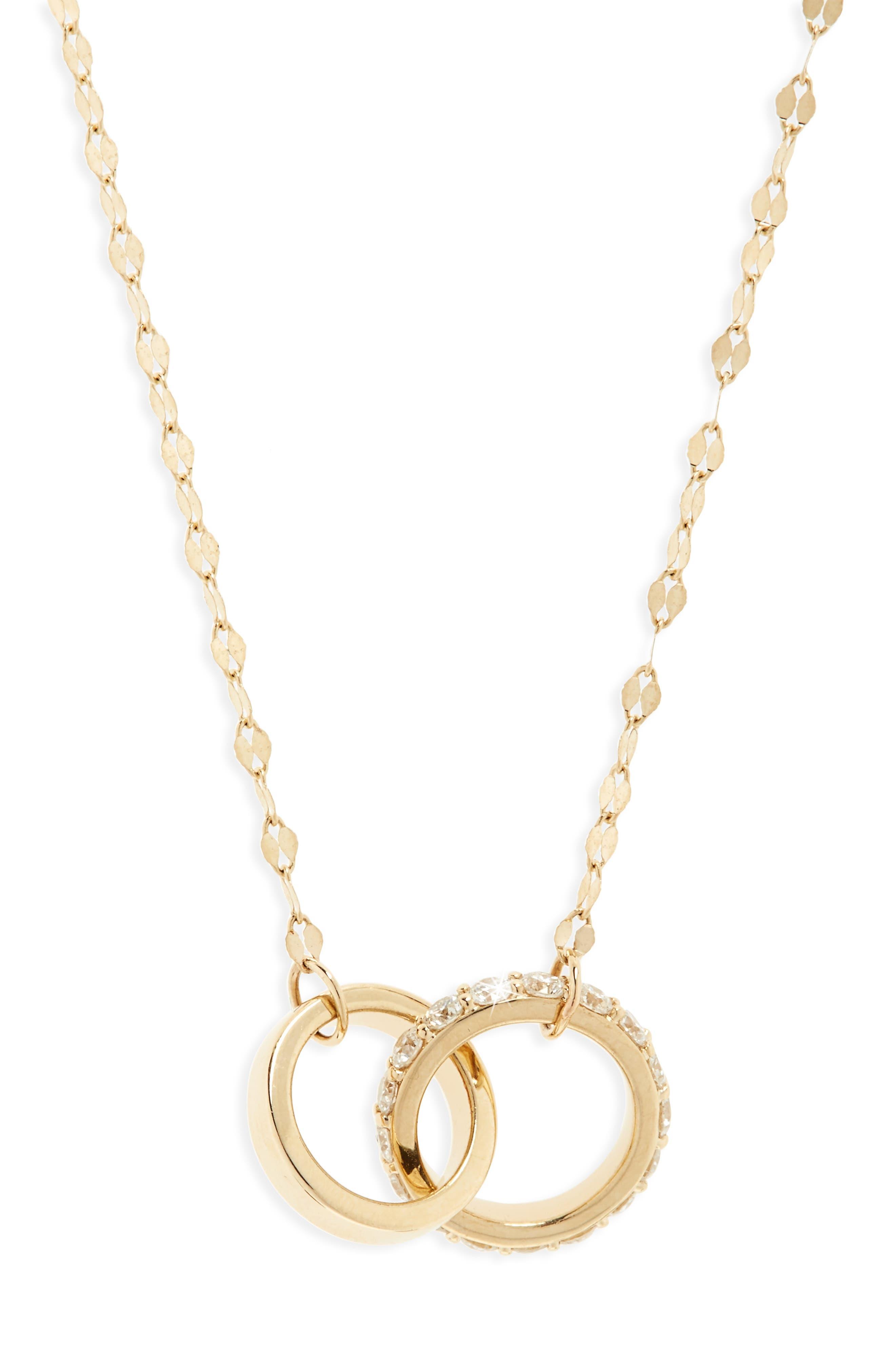 Main Image - Lana Jewelry Flawless Diamond Link Pendant Necklace