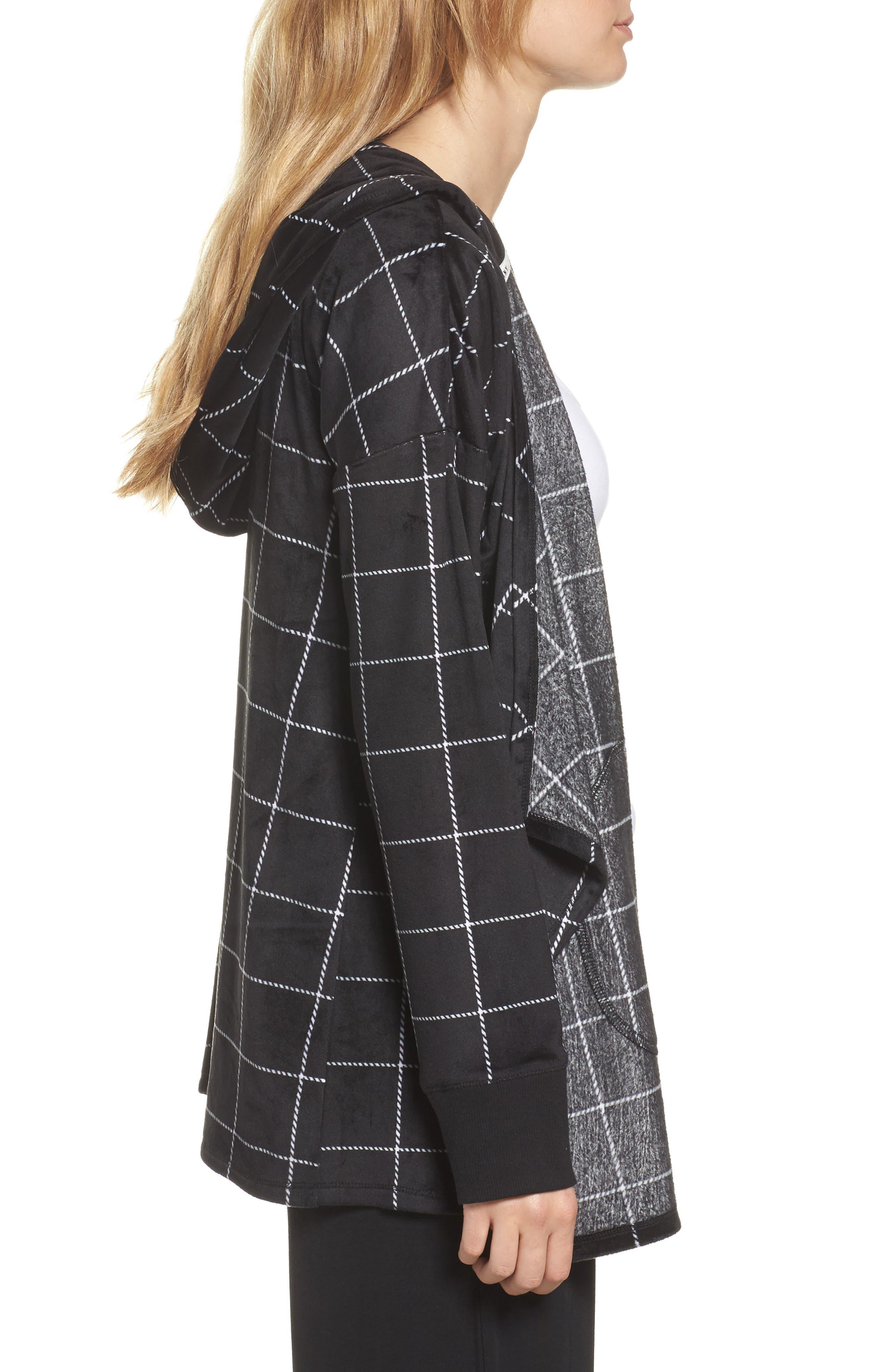 Alternate Image 3  - DKNY Drape Front Sweatshirt