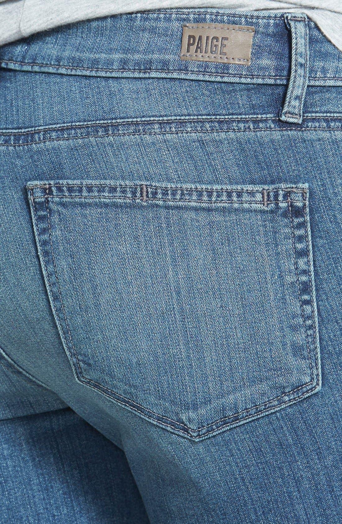 Alternate Image 3  - Paige Denim 'Verdugo' Low Rise Ankle Skinny Jeans (Dazeley)