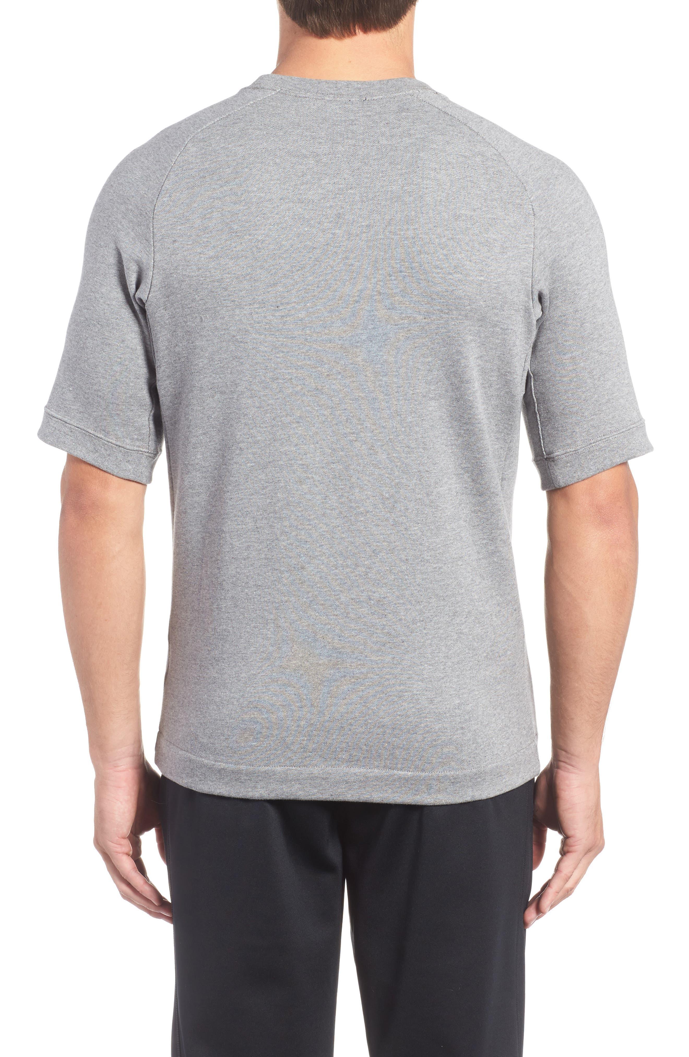 Sportswear Modern Crew T-Shirt,                             Alternate thumbnail 2, color,                             Grey