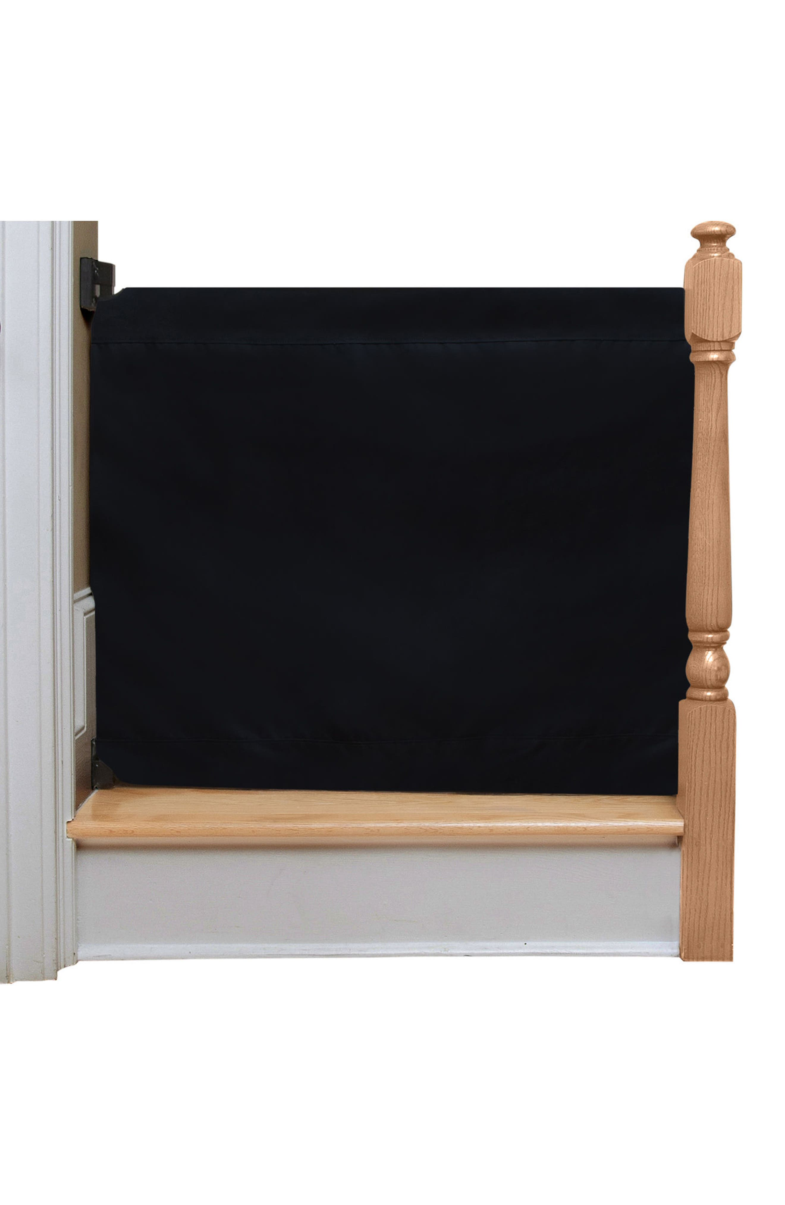 Wall to Banister Indoor Outdoor Safety Gate,                         Main,                         color, Black