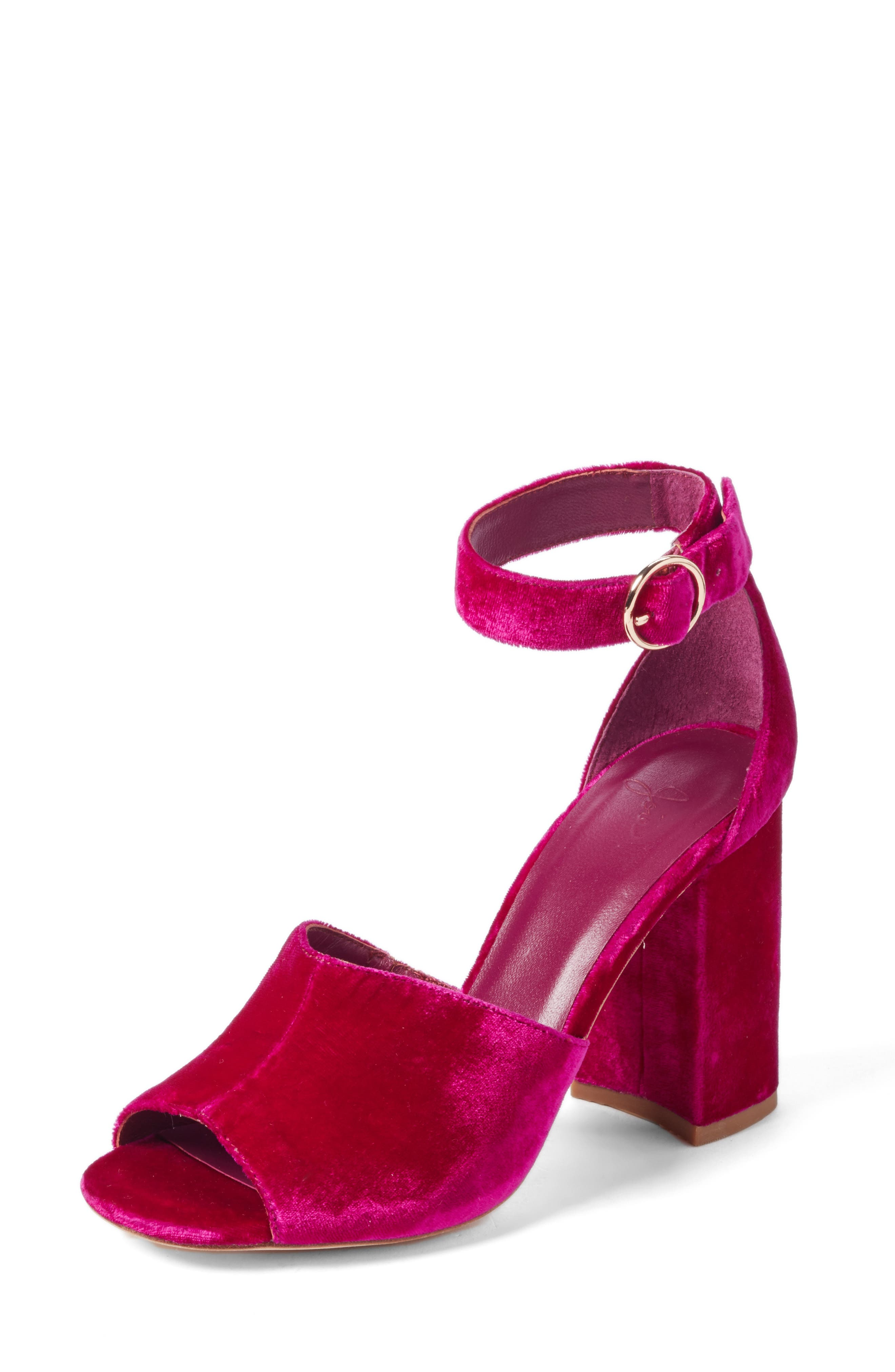 Alternate Image 1 Selected - Joie Lahoma Block Heel Sandal (Women)