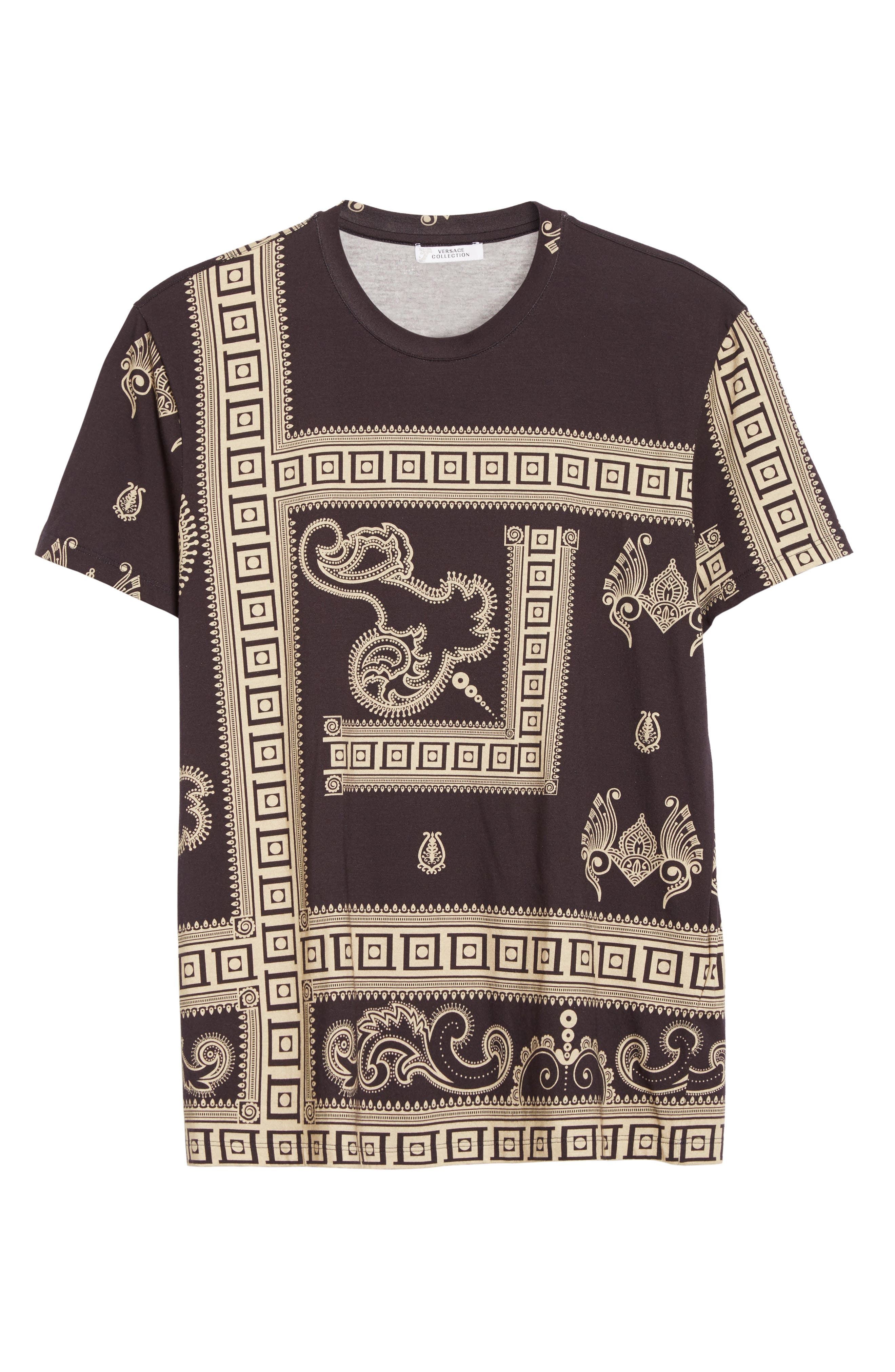 Alternate Image 6  - Versace Collection Paisley Frame Print T-Shirt