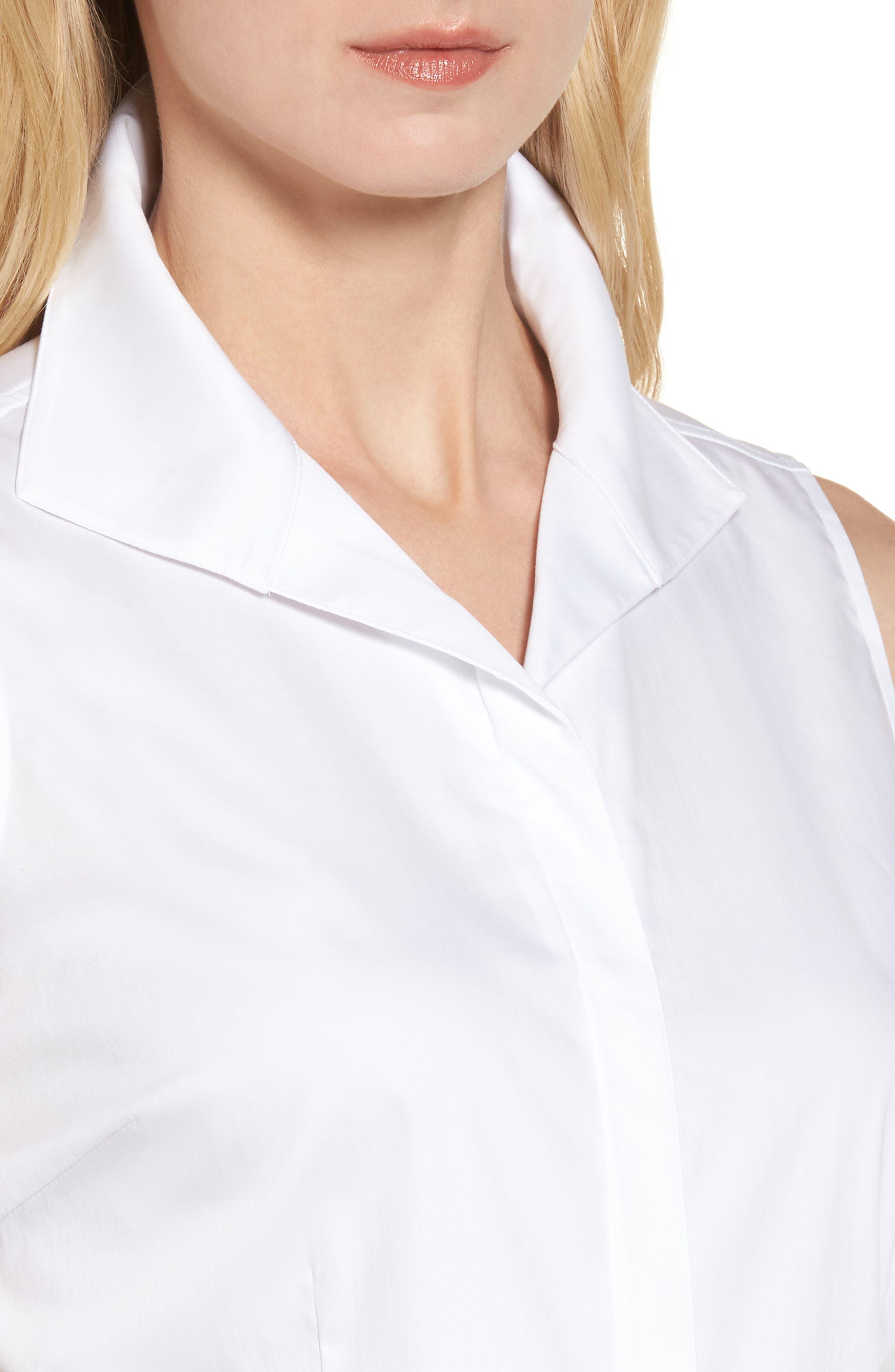 Alternate Image 4  - Ming Wang Sleeveless Shirt