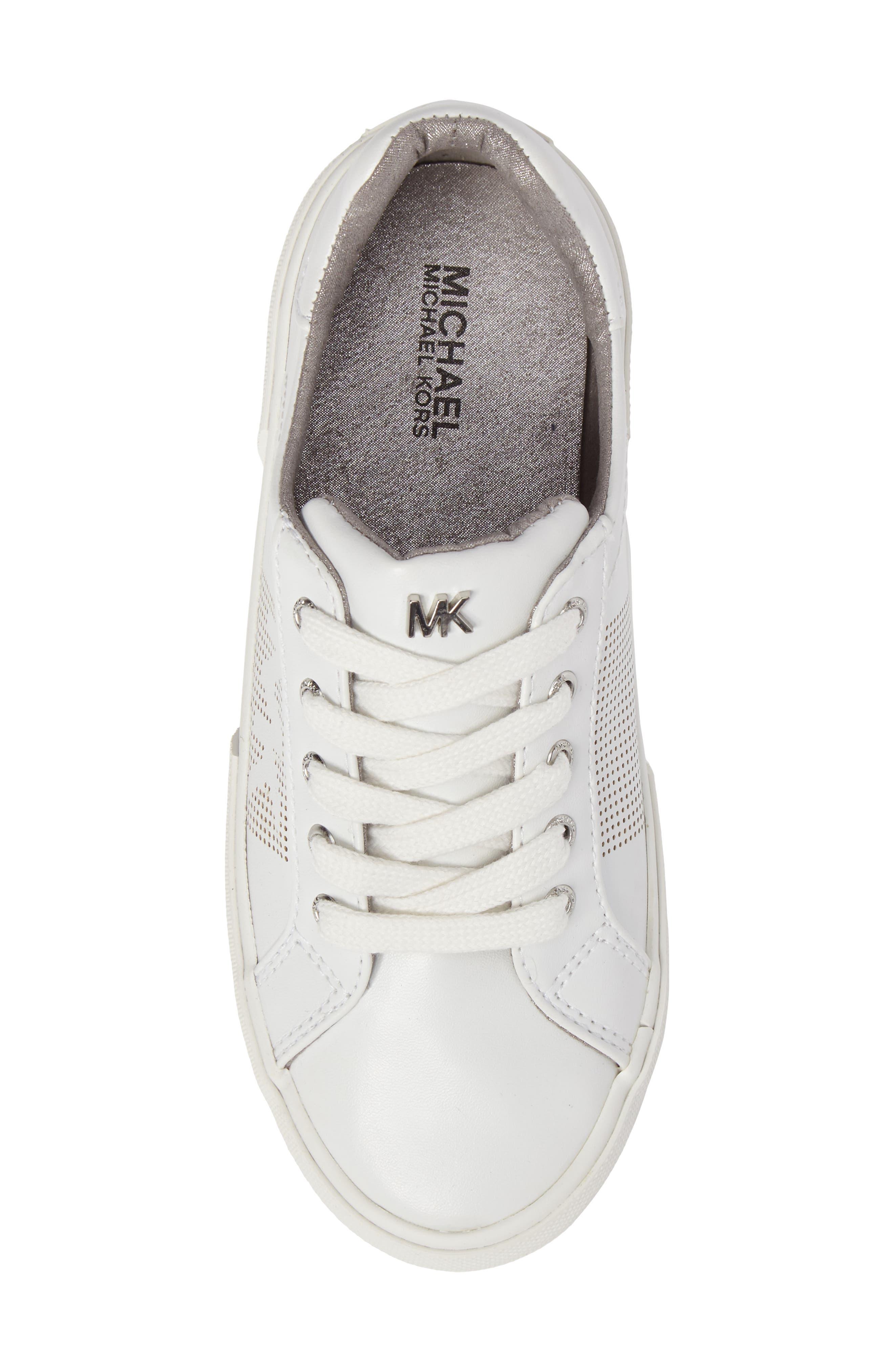 Alternate Image 5  - MICHAEL Michael Kors Ima Court Sneaker (Walker, Toddler, Little Kid & Big Kid)