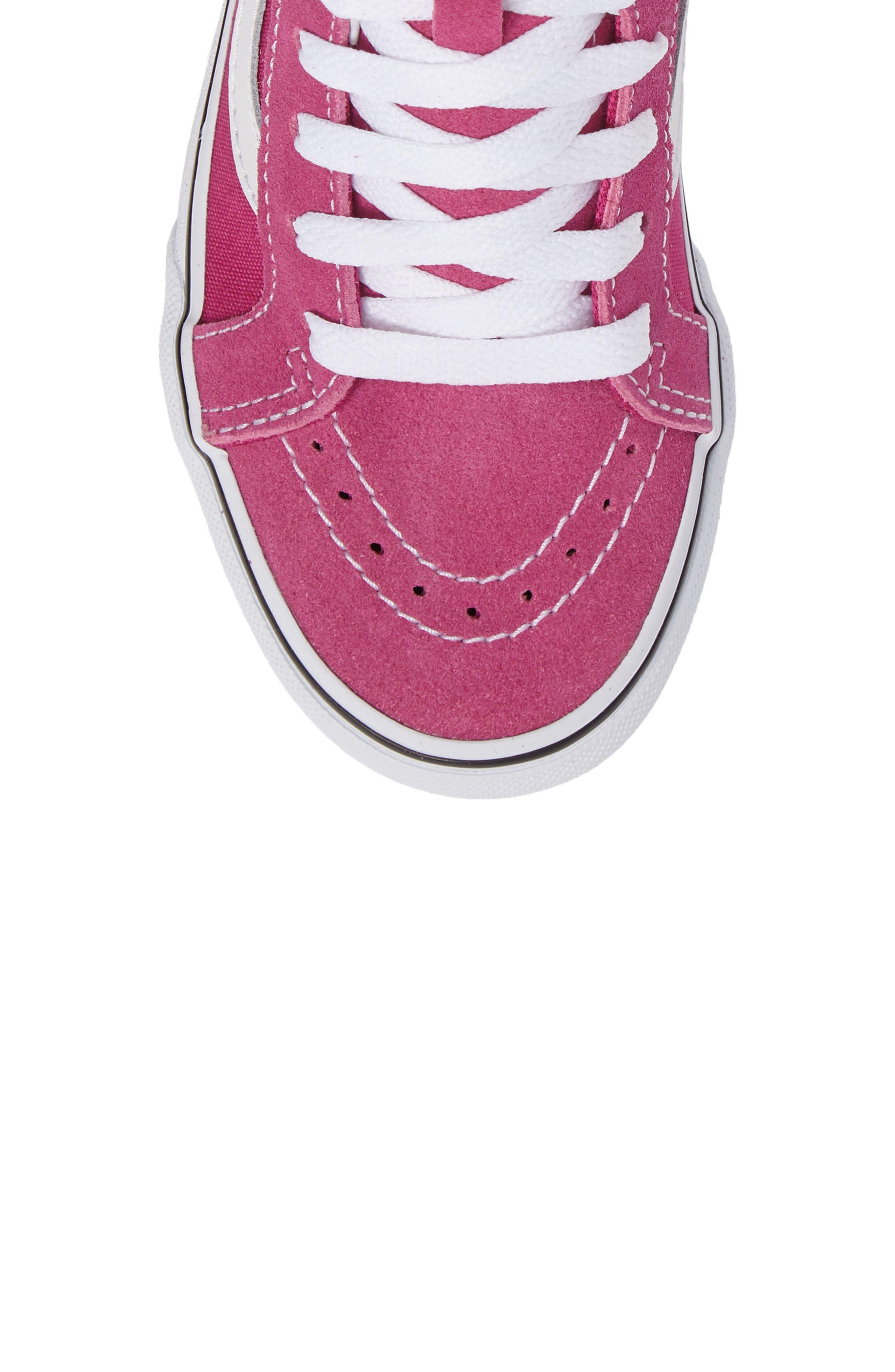 Alternate Image 10  - Vans Sk8-Hi Zip Sneaker (Baby, Walker, Toddler, Little Kid & Big Kid)
