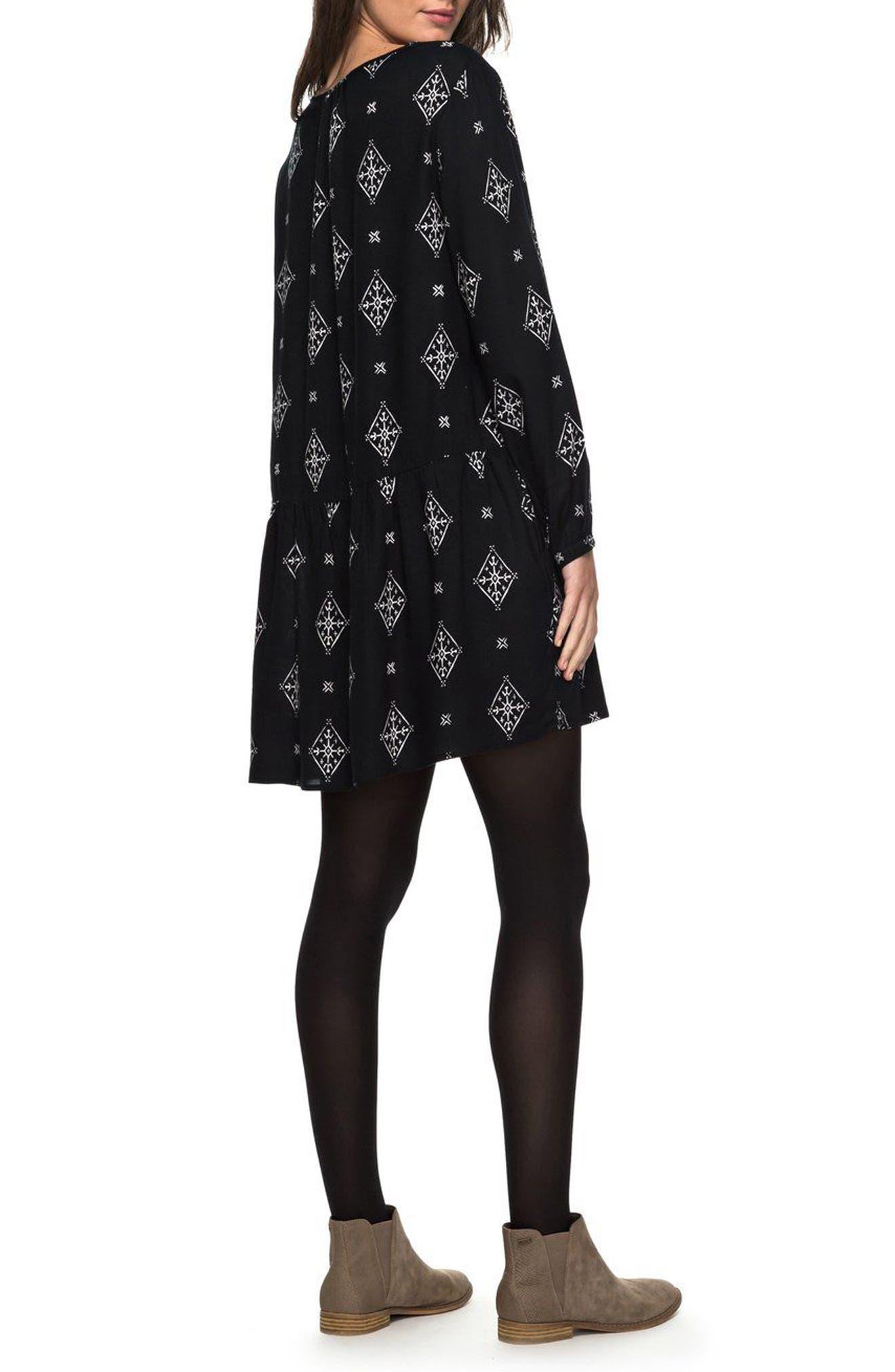 Alternate Image 2  - Roxy Sunkissed Daze Print Swing Dress