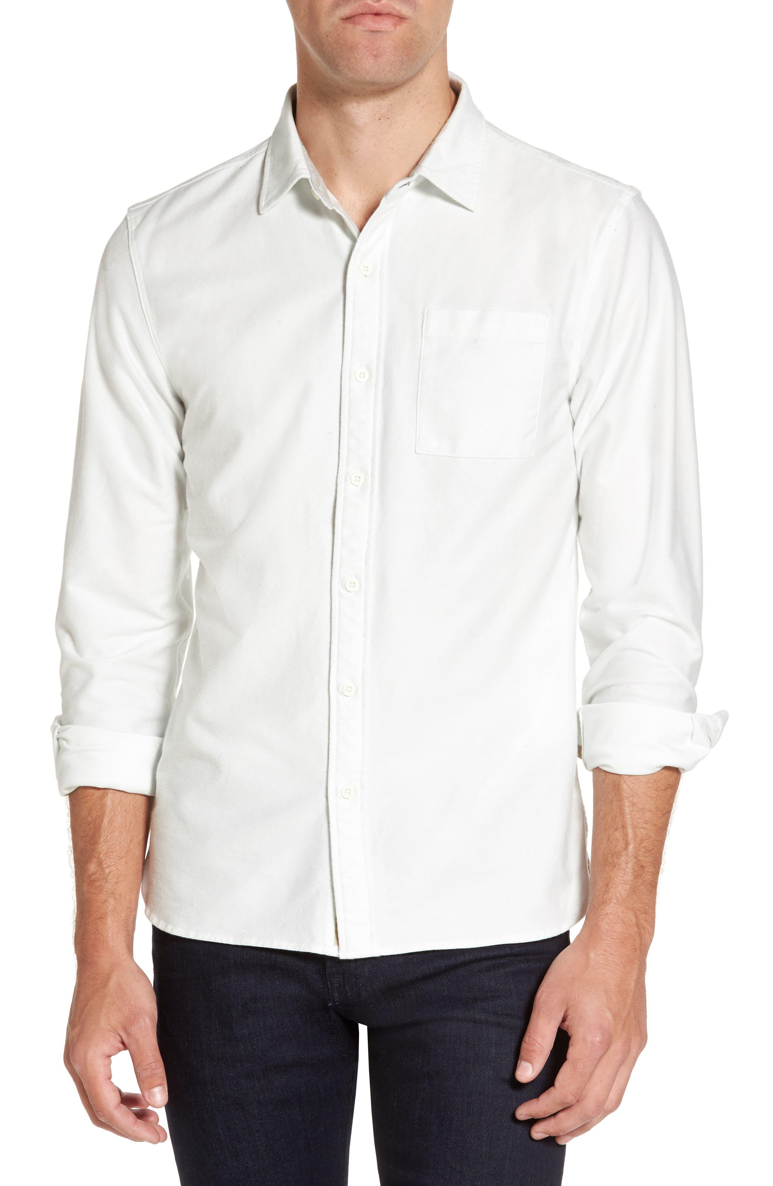 Main Image - Nifty Genius Truman Solid Sport Shirt