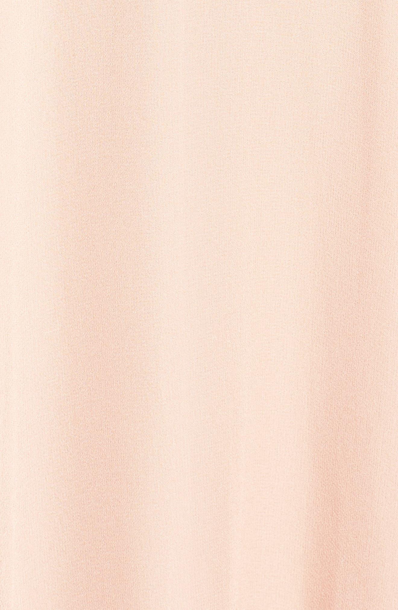 Alternate Image 6  - Greylin Libbie Ruffle Silk Dress