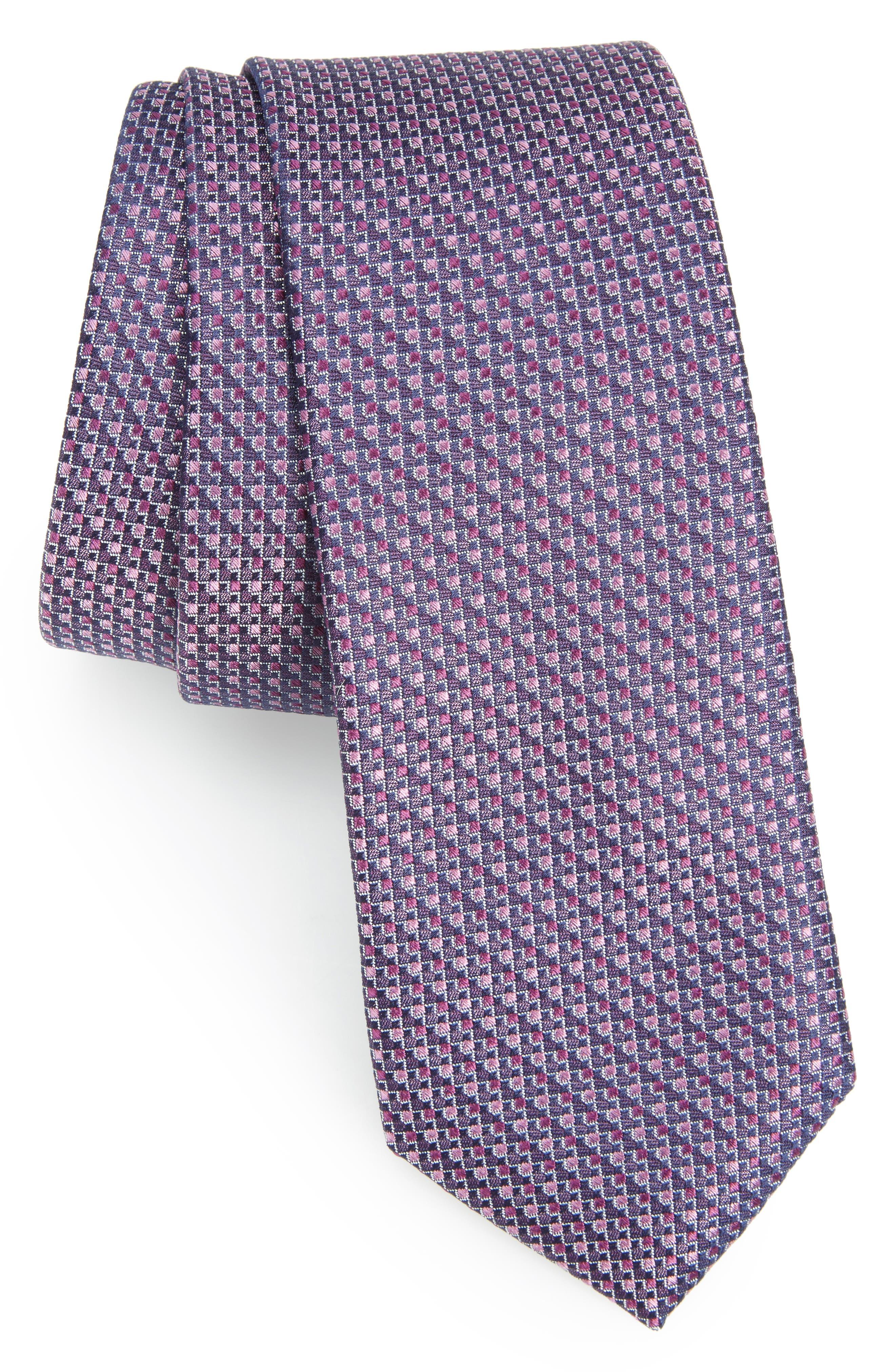 Calibrate Stellar Skinny Silk Tie