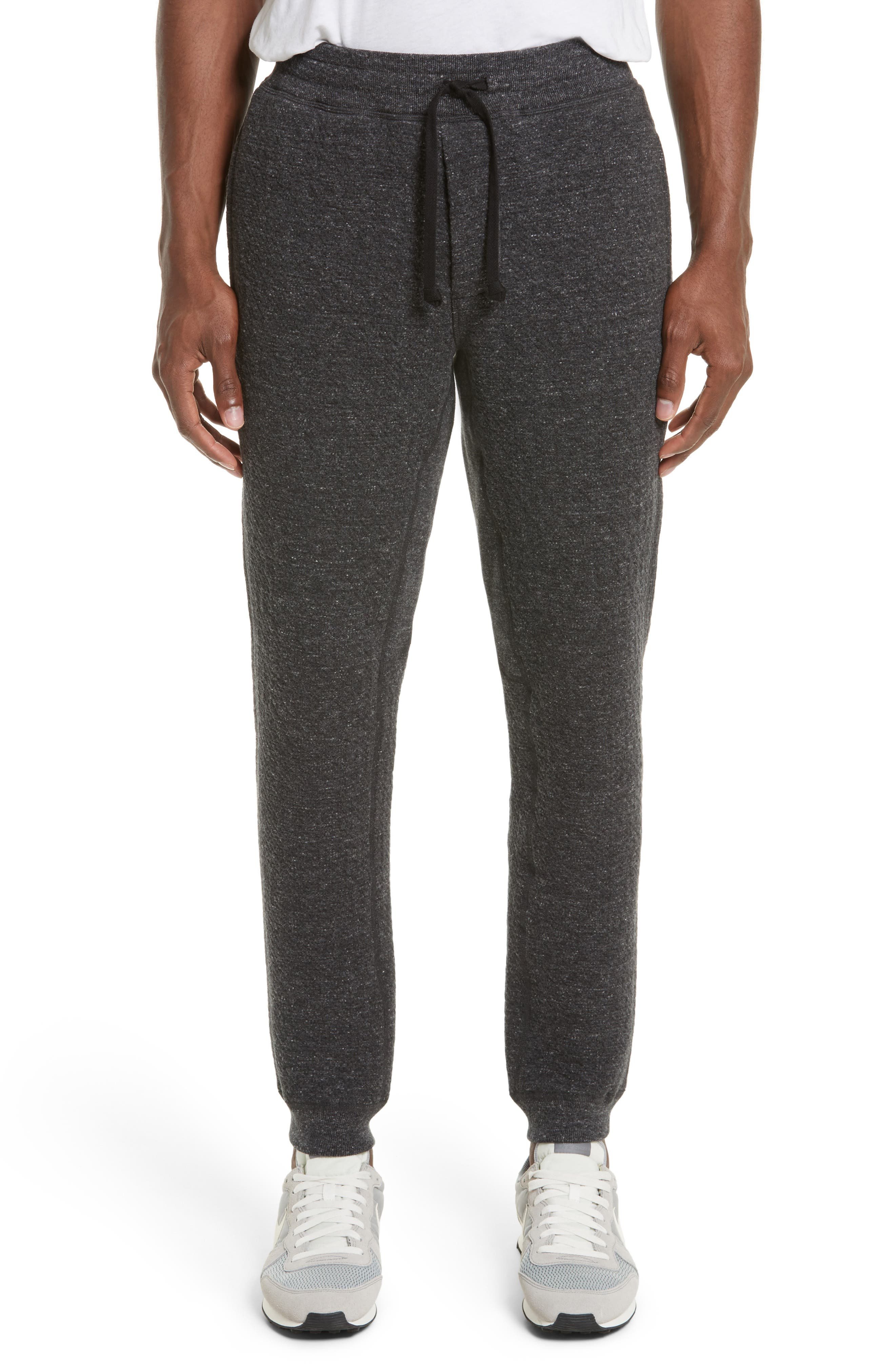 Cabin Fleece Sweatpants,                         Main,                         color, Charcoal