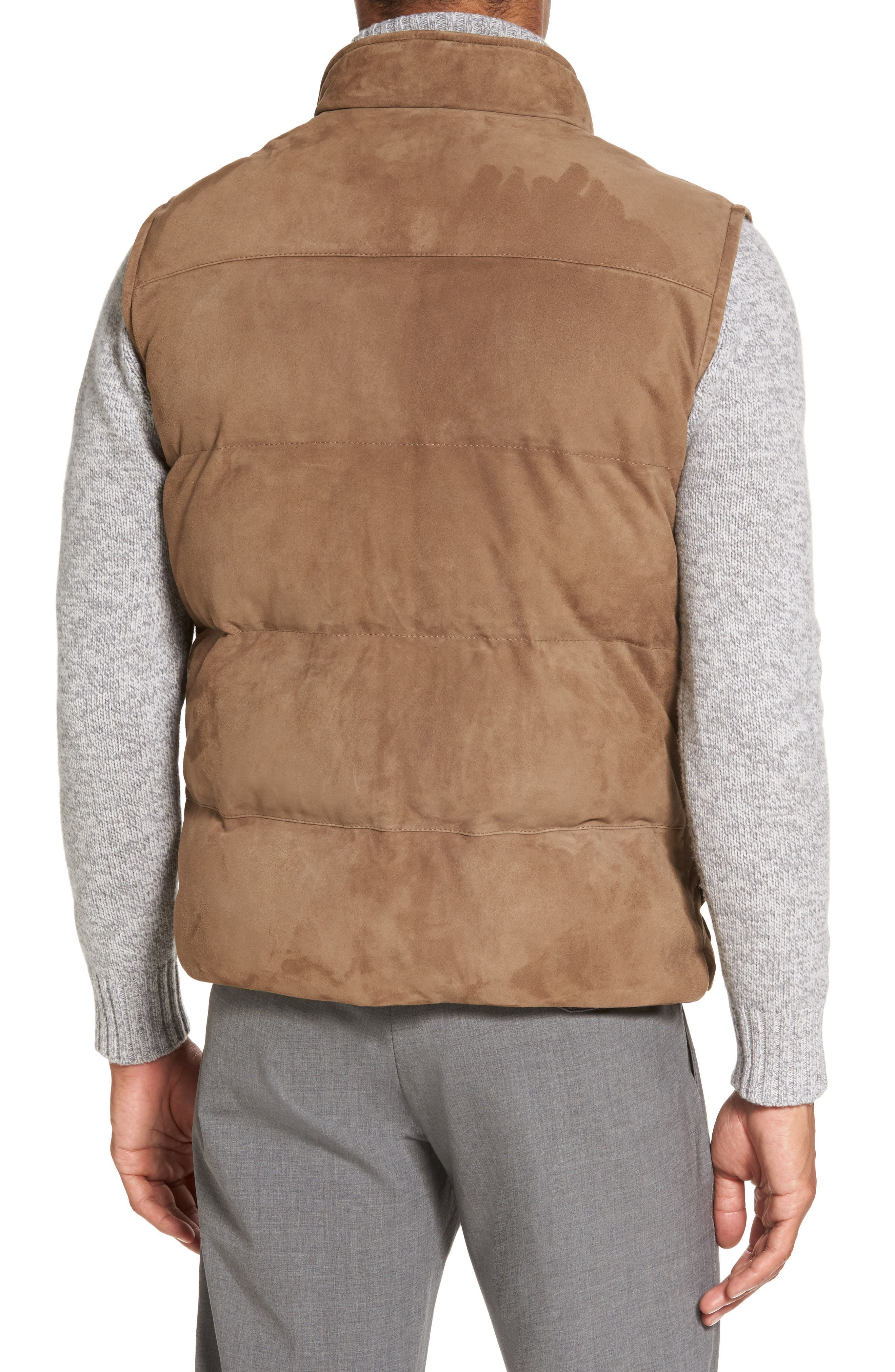 Alternate Image 2  - Eleventy Suede Vest
