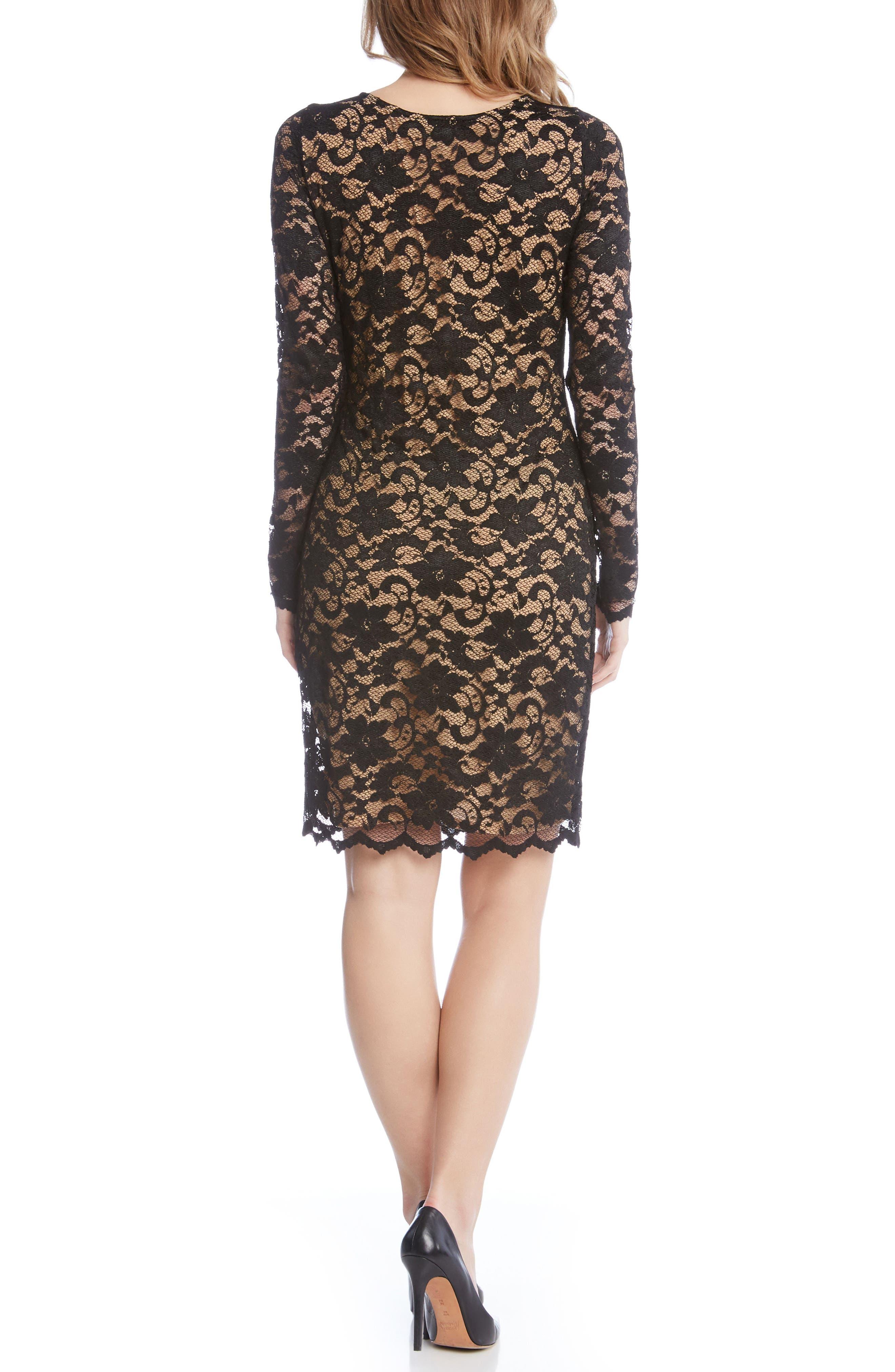 Alternate Image 3  - Karen Kane Lace Sheath Dress