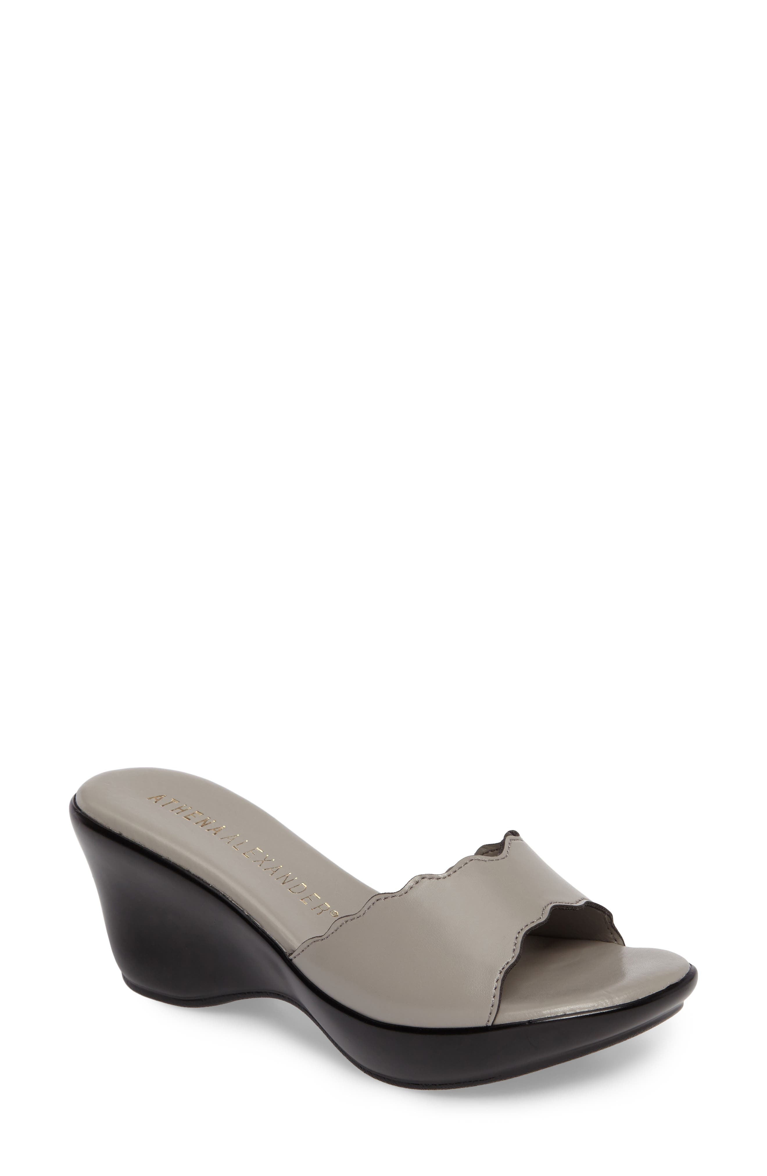 Novva Sandal,                         Main,                         color, Grey Synthetic