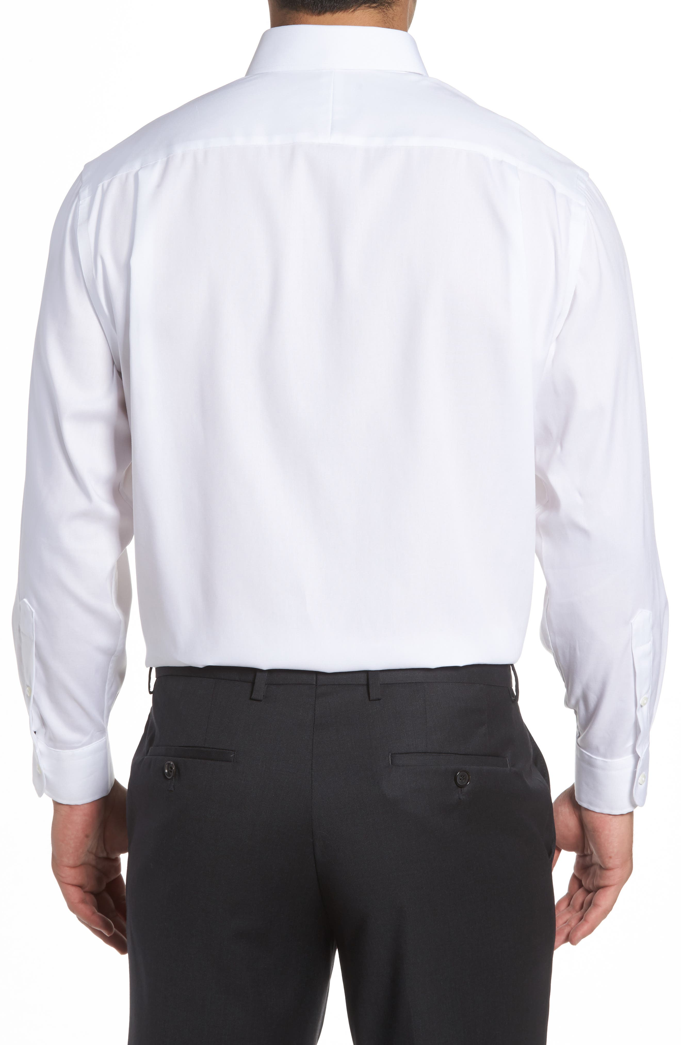Alternate Image 2  - Nordstrom Men's Shop Classic Fit Non-Iron Solid Dress Shirt